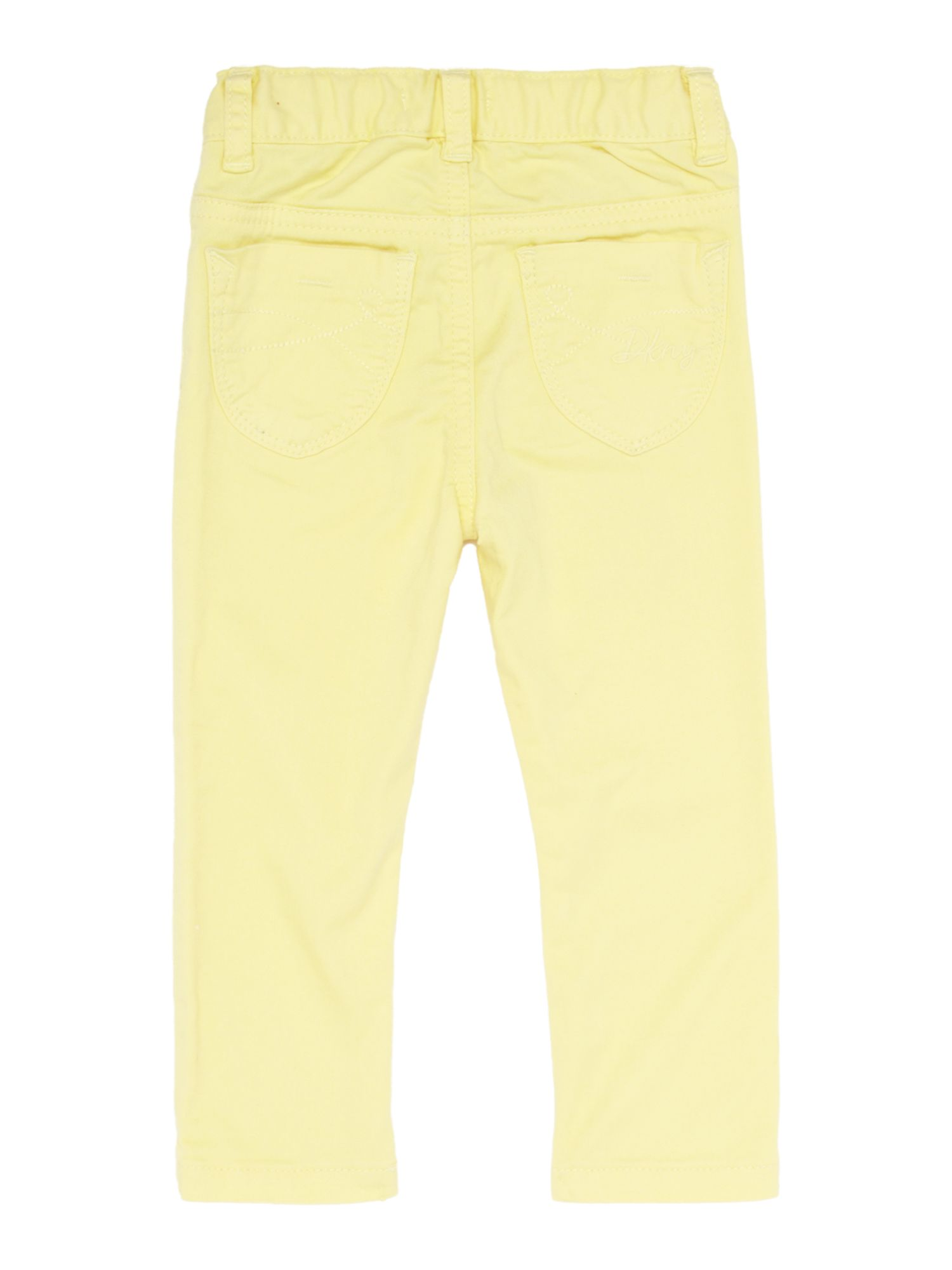 Girls 4 pocket twill trousers