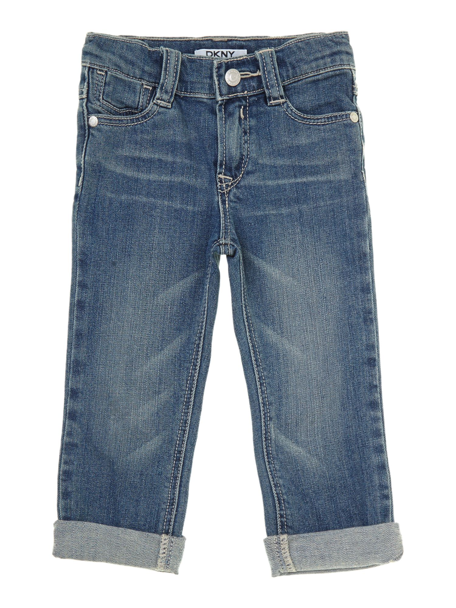 Boy`s light 5 pocket jeans