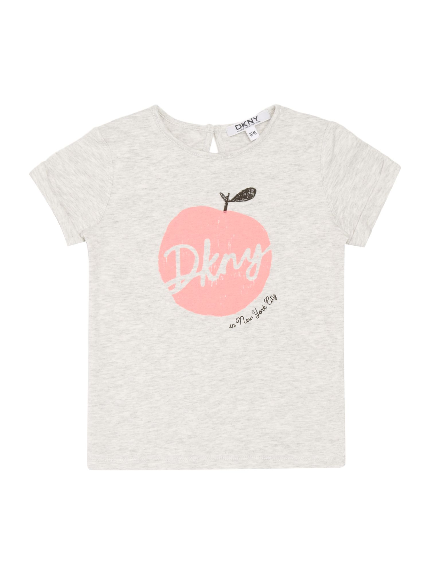 Girls apple short sleeve t-shirt