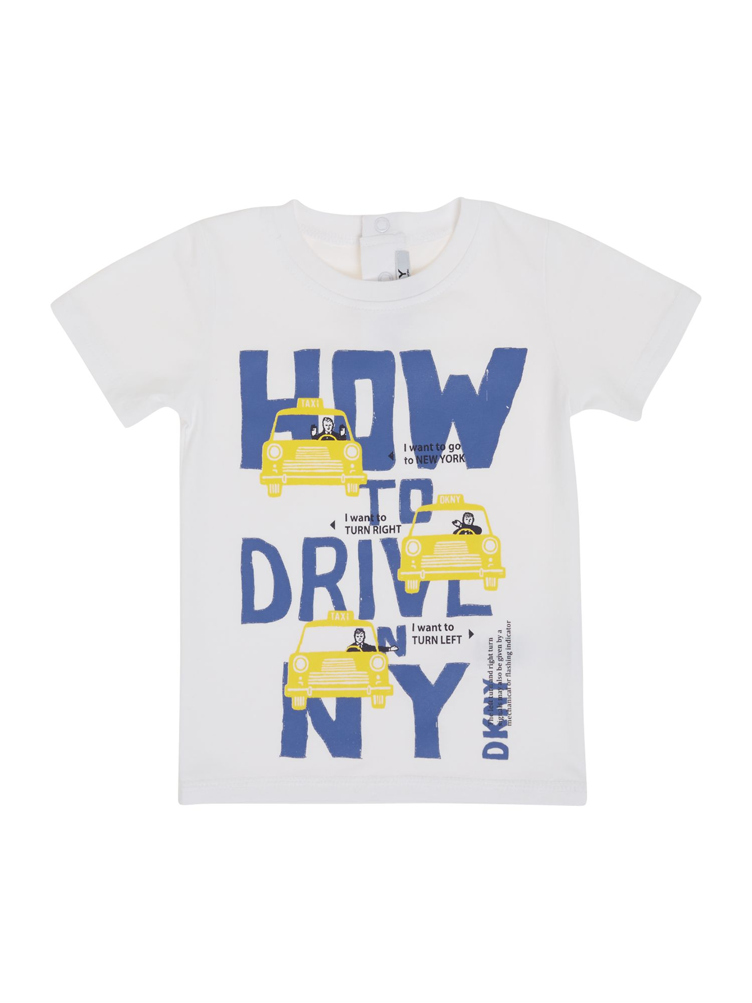 Boy`s printed drive t-shirt