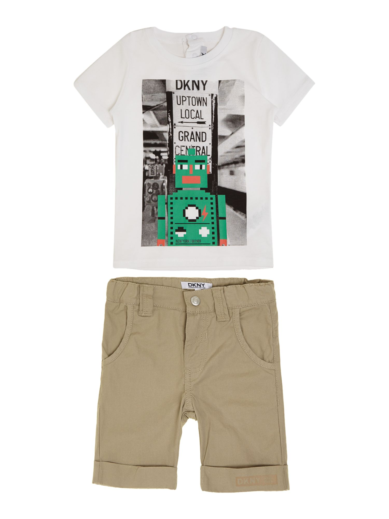 Boys set of t-shirt and bermuda shorts