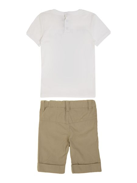 DKNY Boys set of t-shirt and bermuda shorts