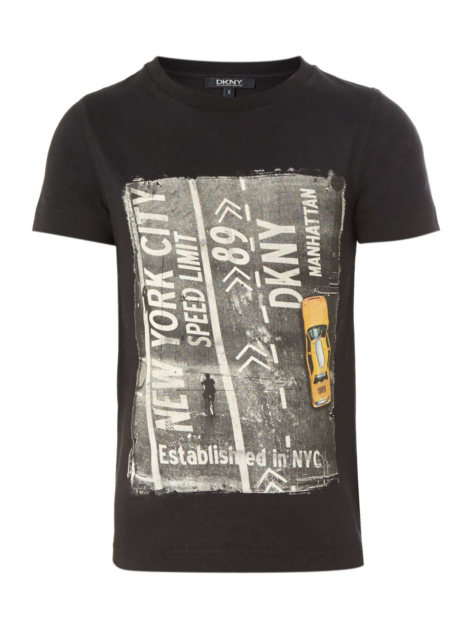 Boy`s road print t-shirt