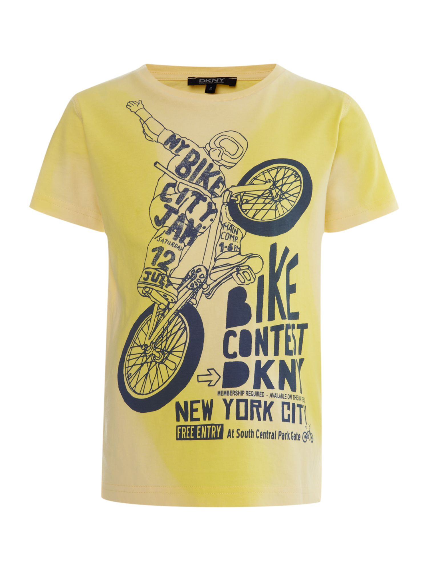 Boy`s bike print t-shirt