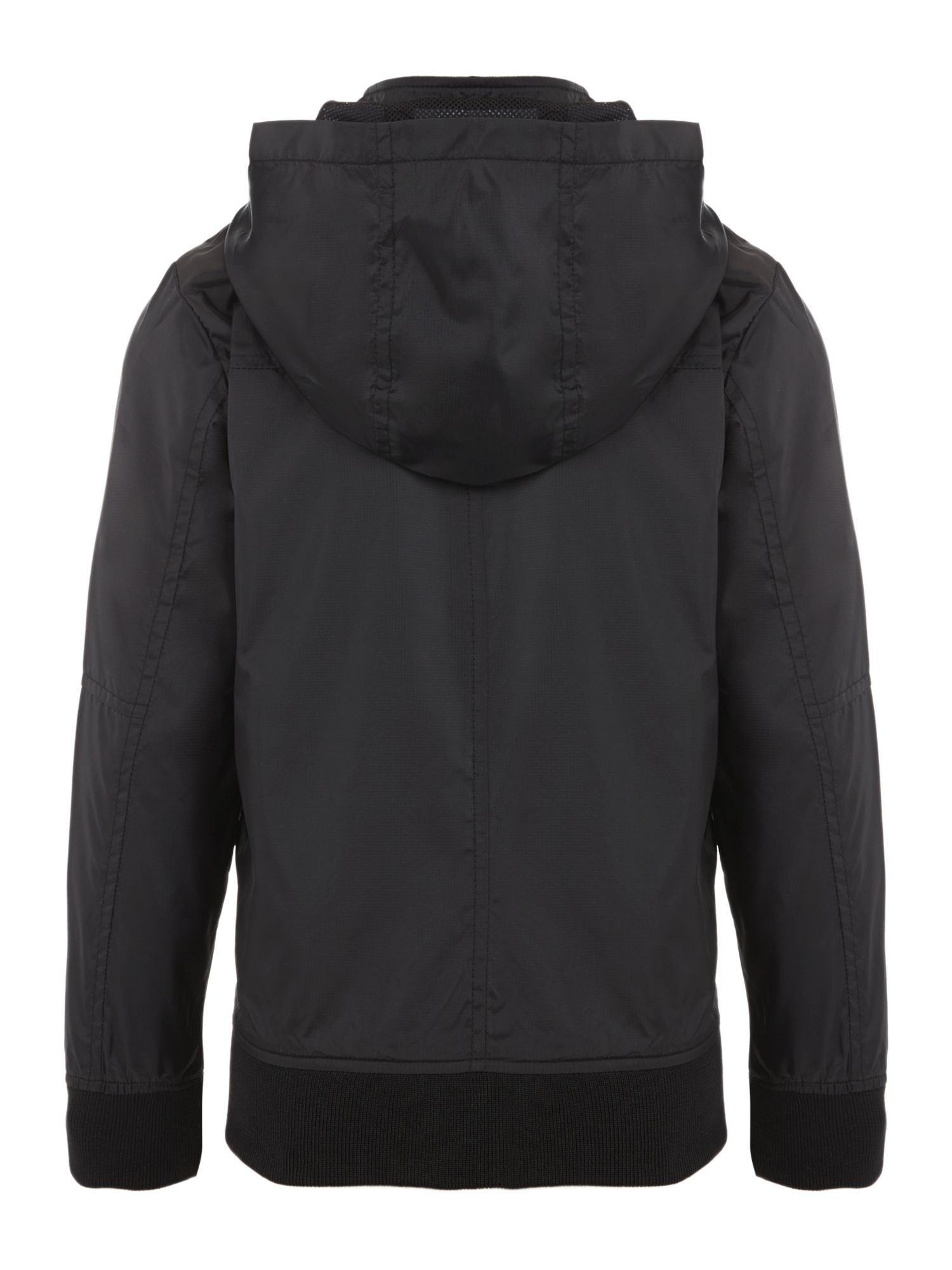 Boy`s hooded windbreaker