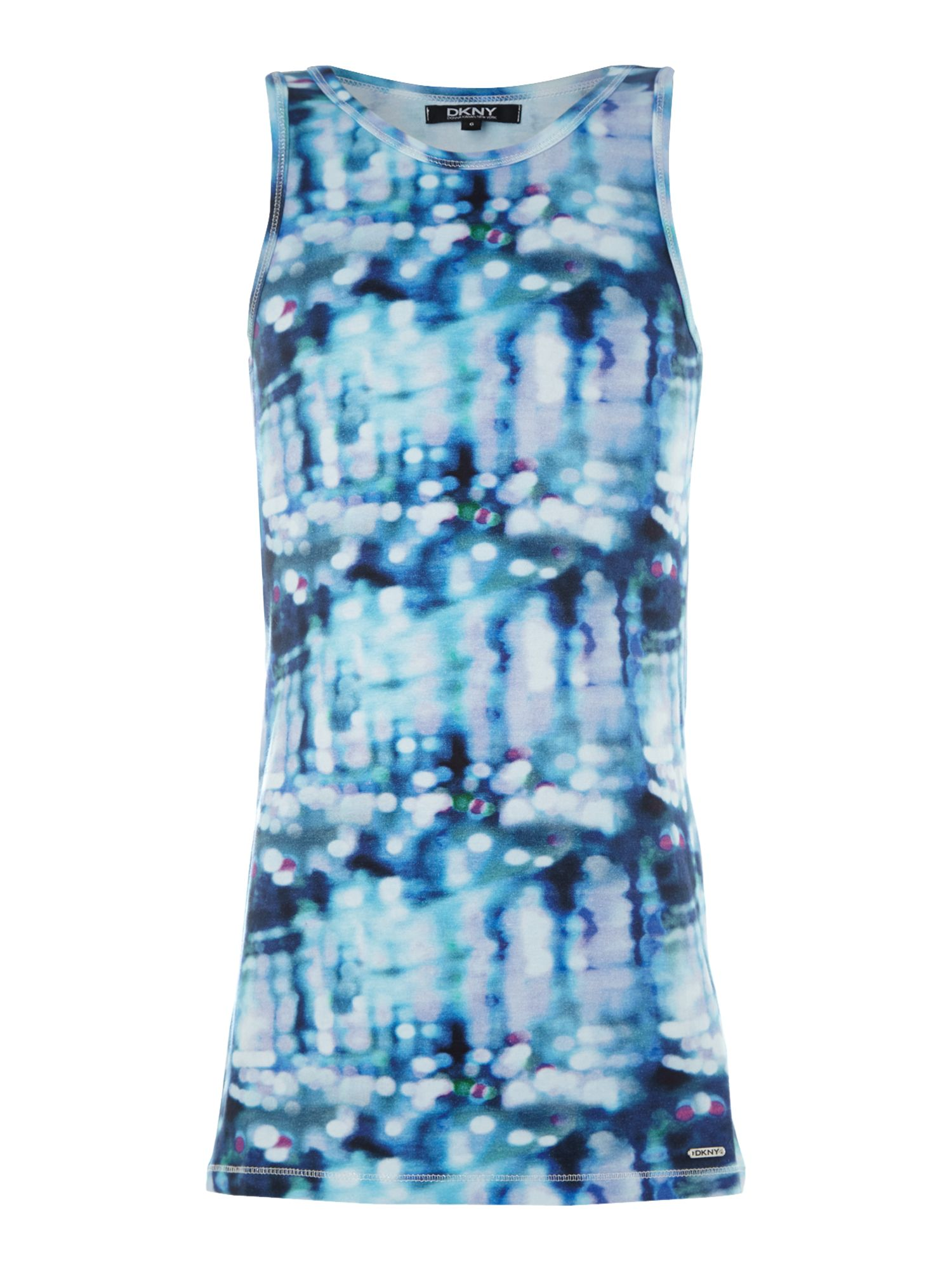 Girl`s printed sleeveless dress
