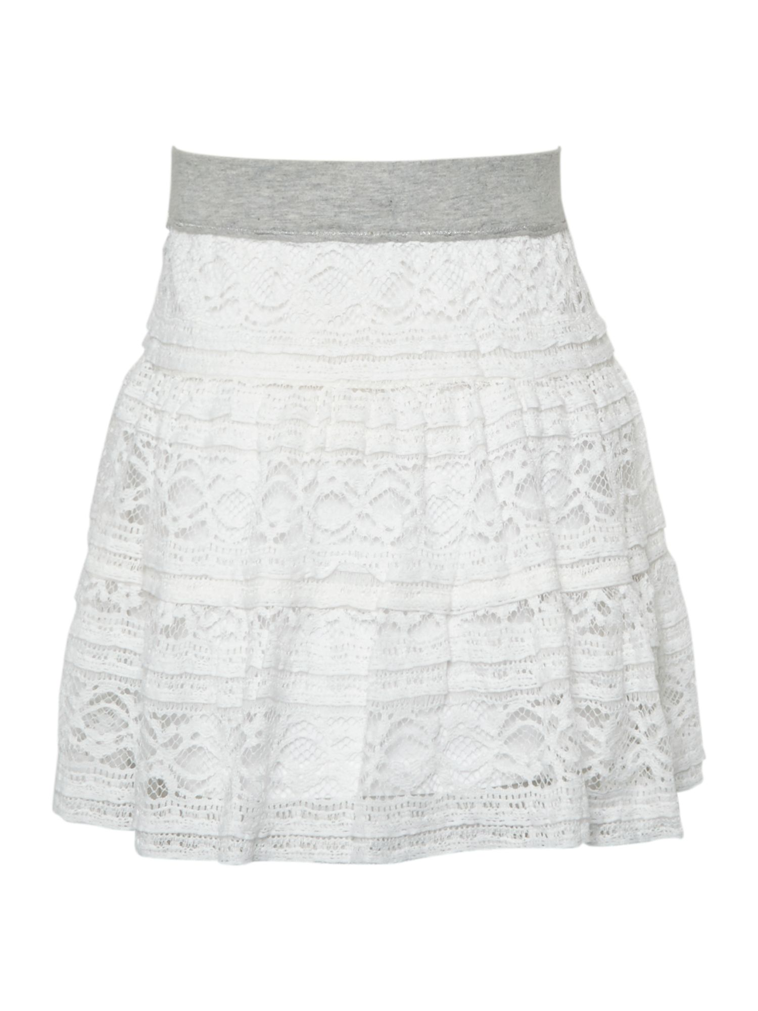 Girl`s lace skirt