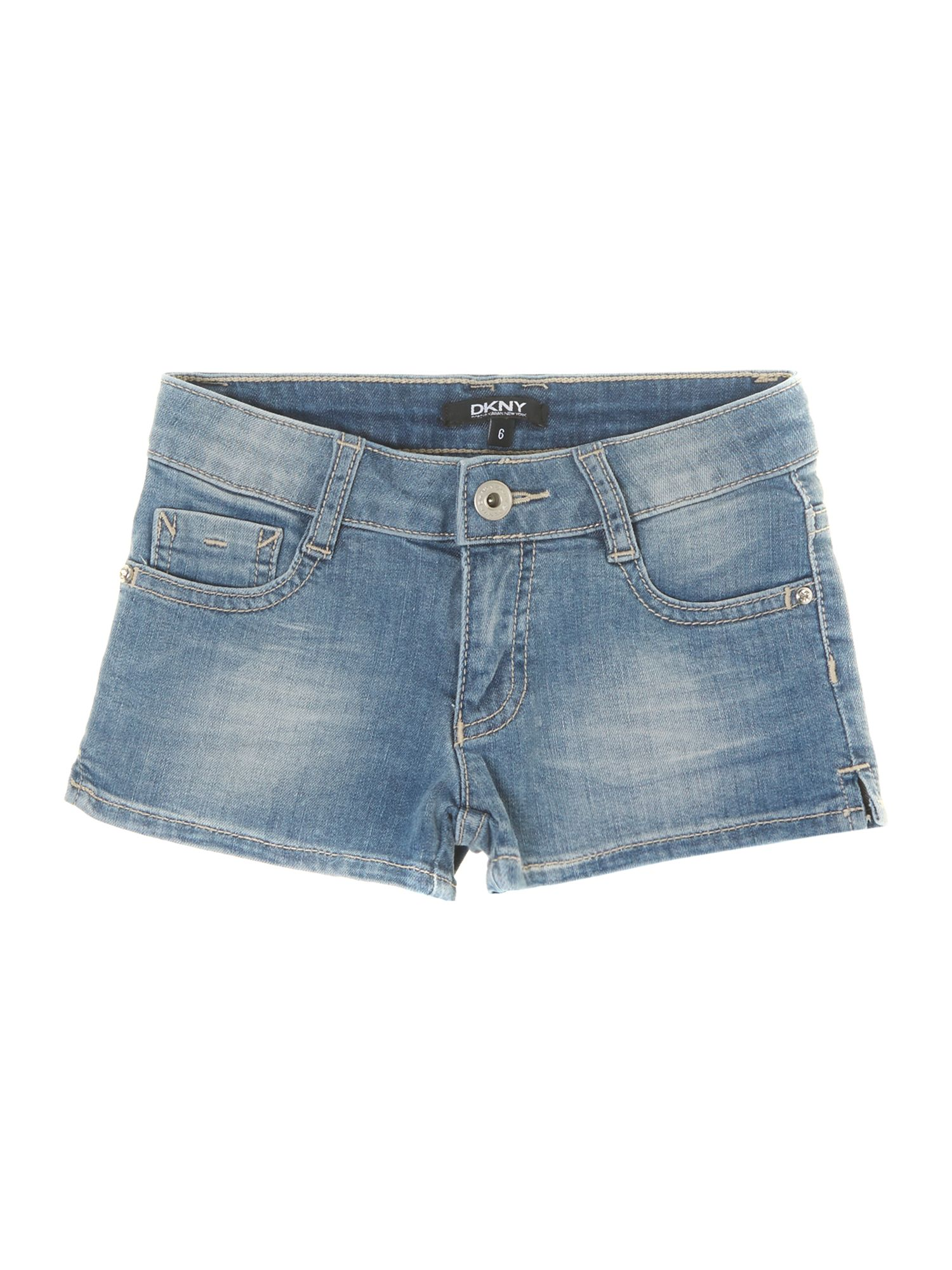 Girl`s denim shorts