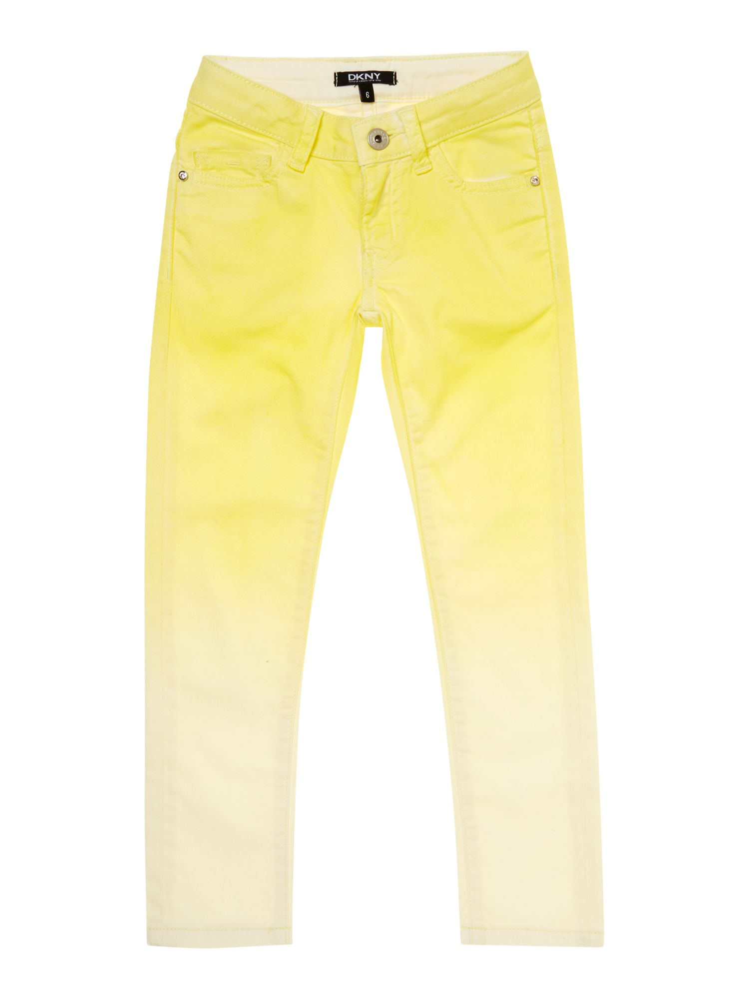 Girl`s coloured twill trousers