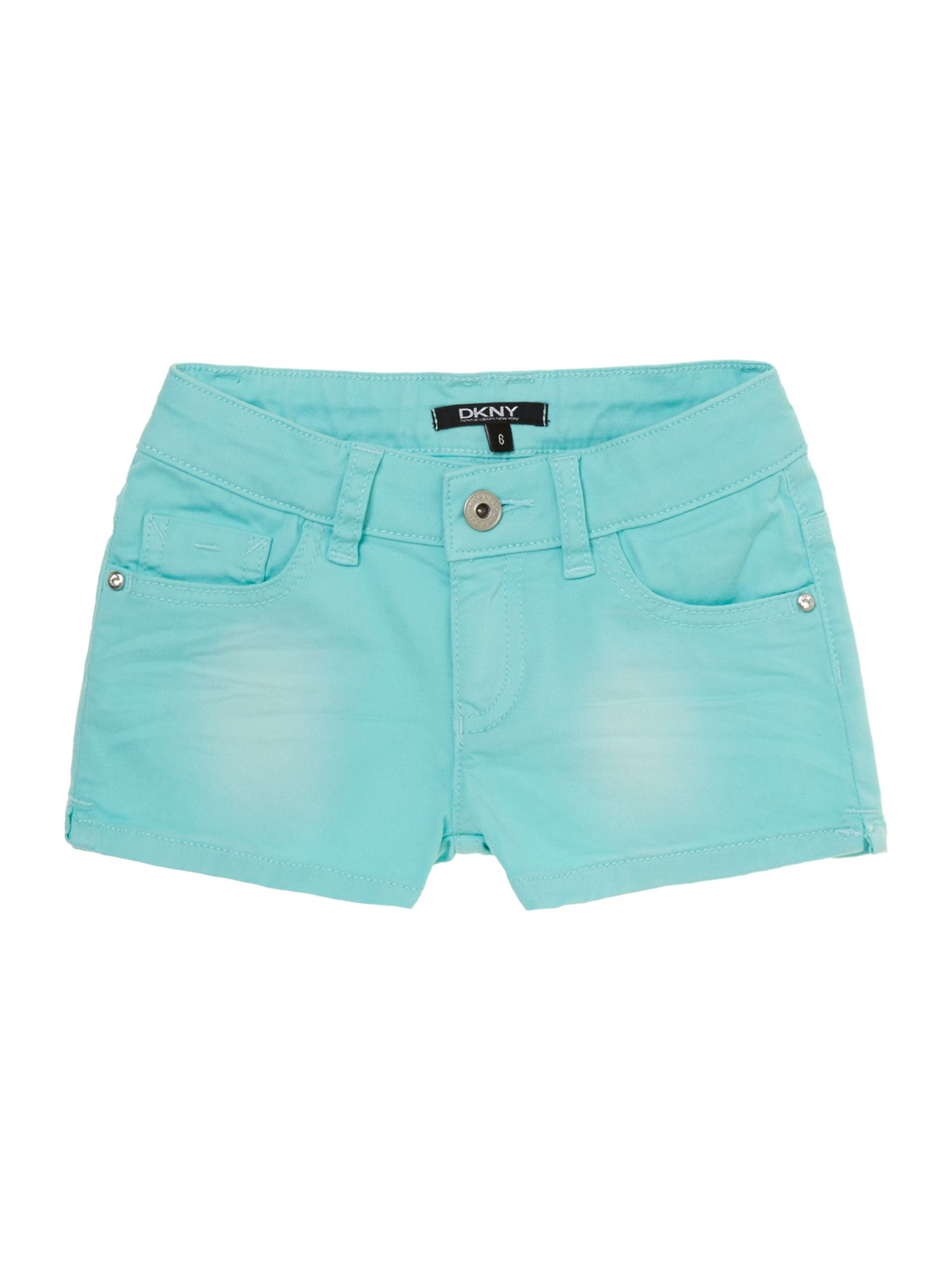 Girl`s coloured twill shorts