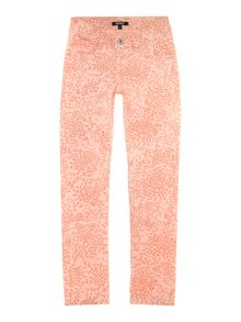 Girl`s printed will trousers