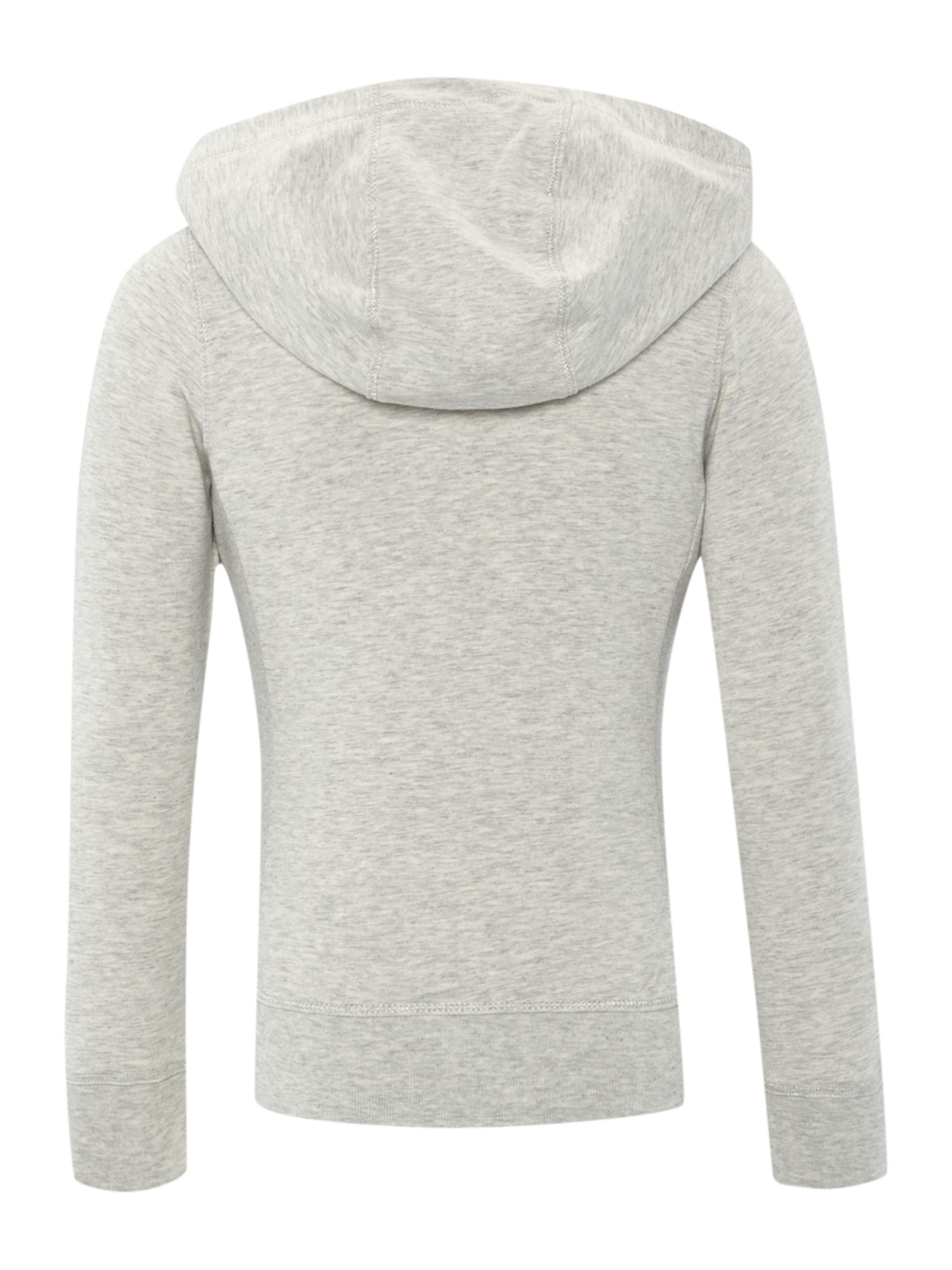 Girl`s fleece hooded top
