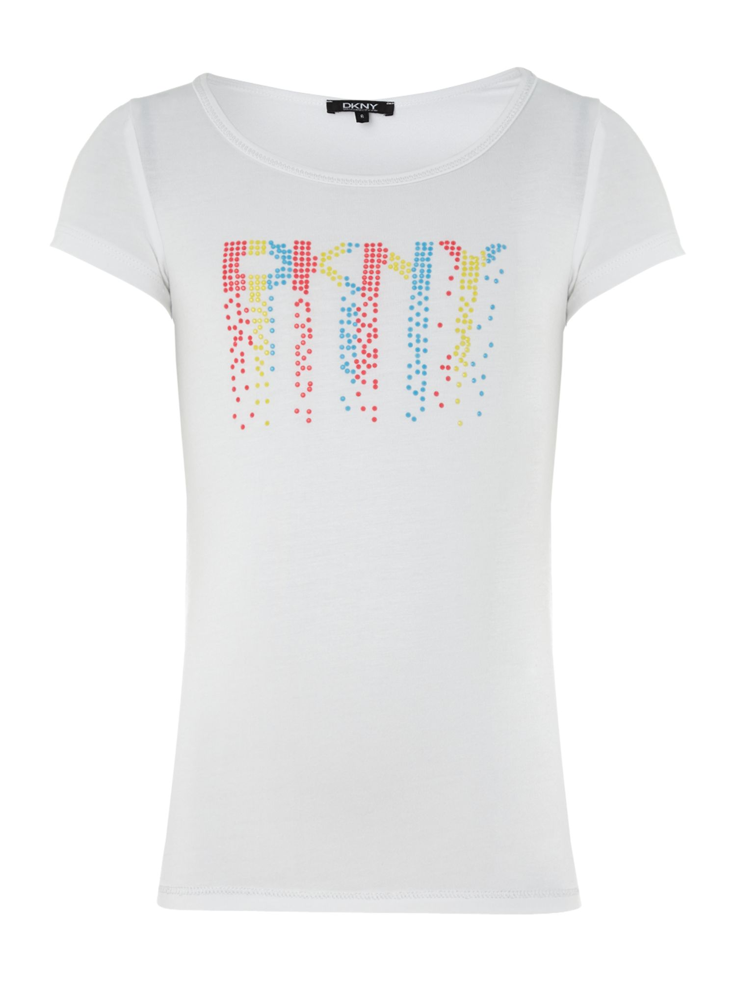 Girl`s rainbow logo t-shirt