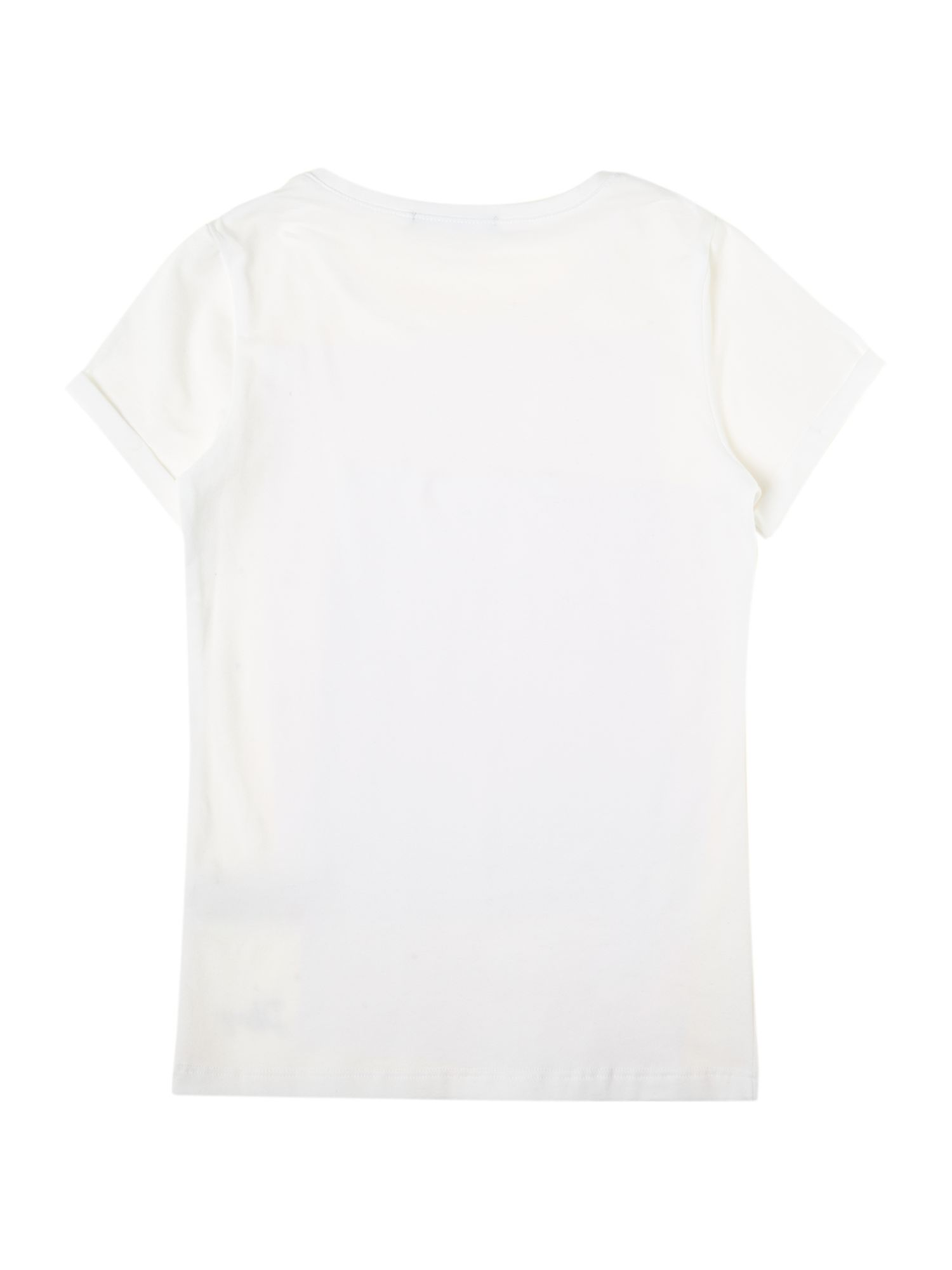 Girl`s diamonte short sleeve t-shirt