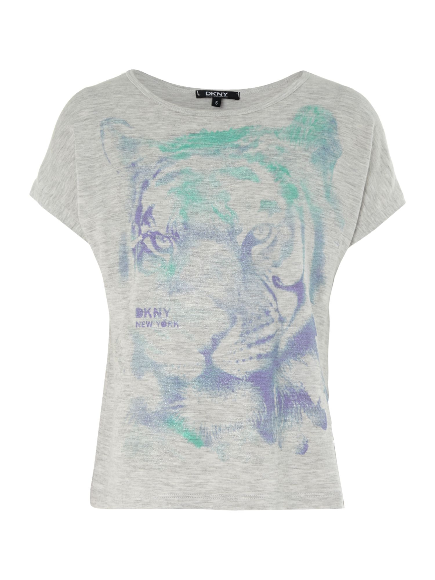 Girl`s tiger print t-shirt
