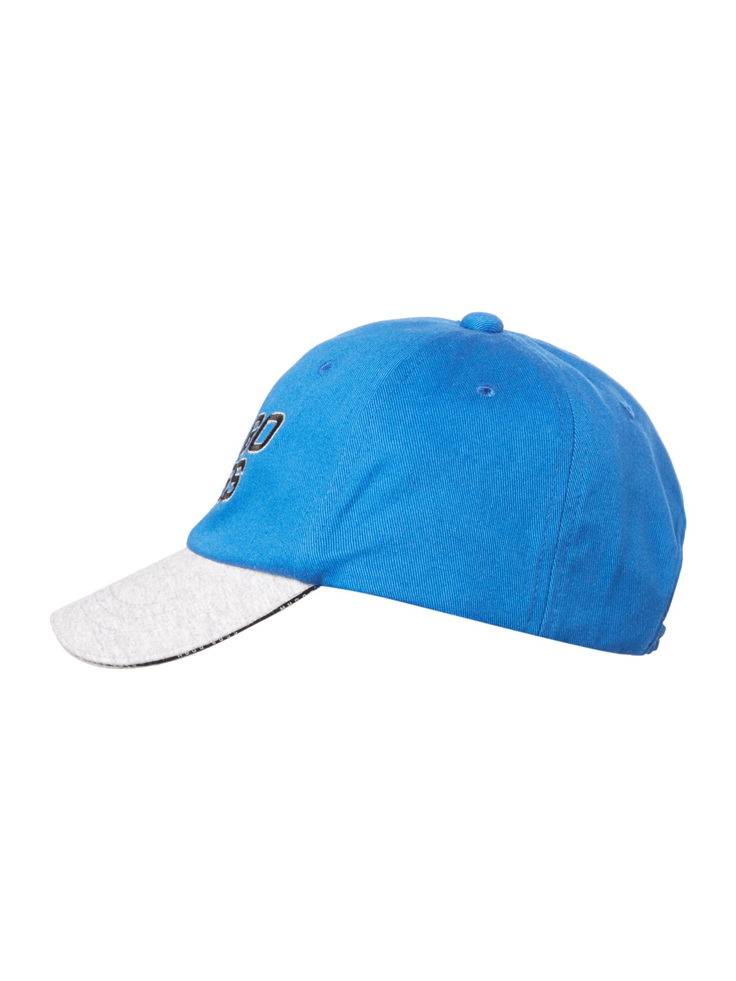 Boy`s twill and jersey cap