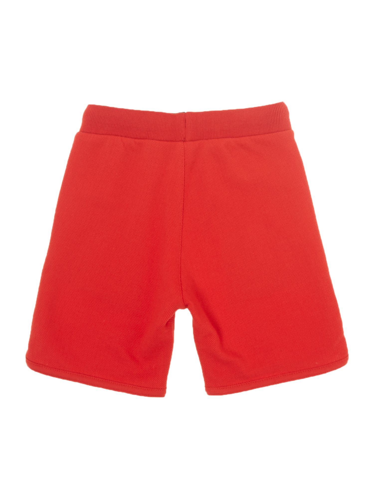 Boy`s piqué fleece bermuda shorts
