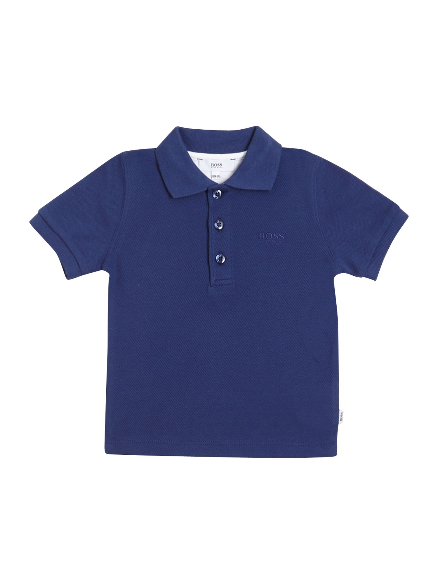 Boy`s piqué short sleeve polo shirt