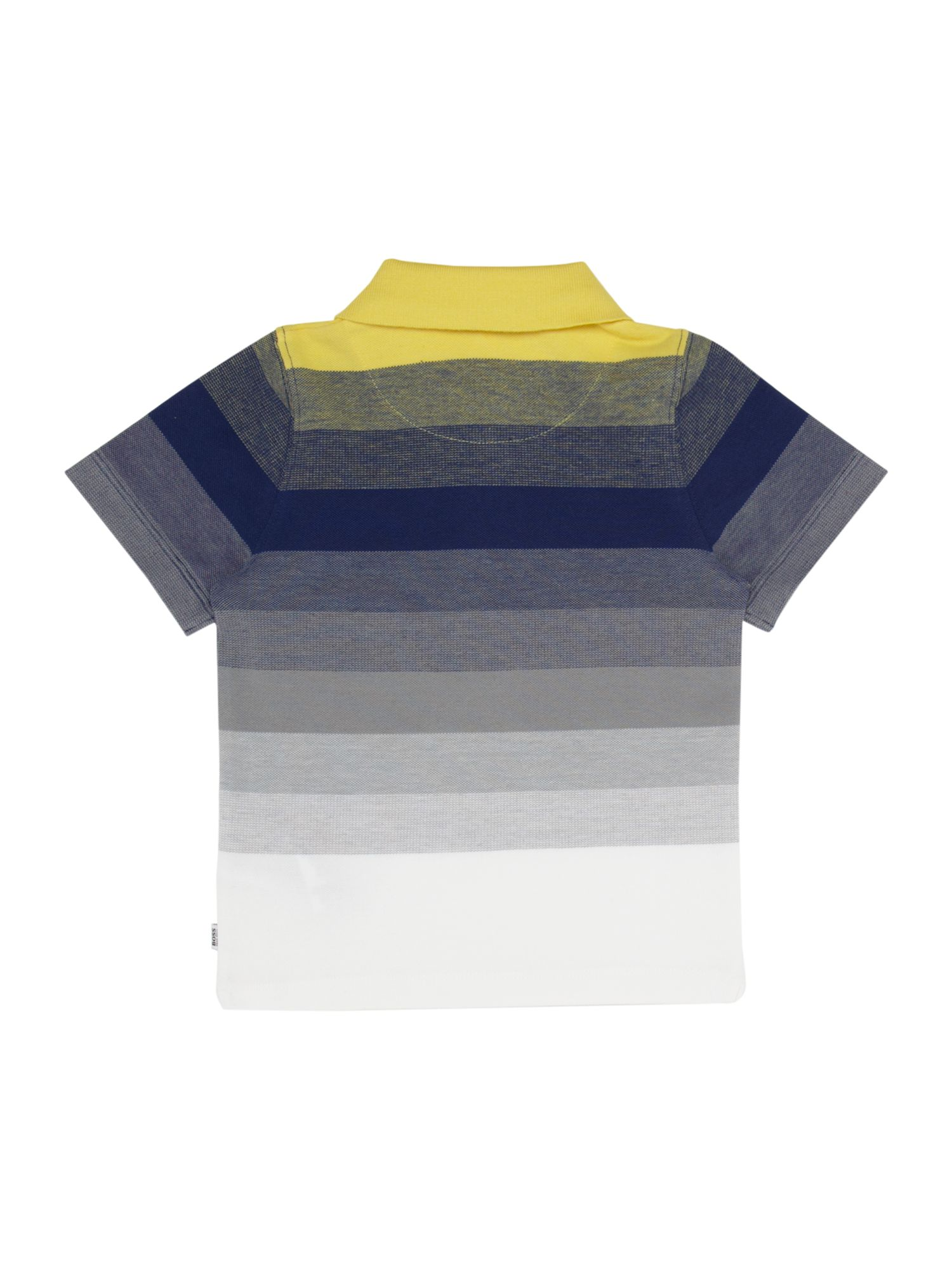 Boy`s striped piqué polo shirt