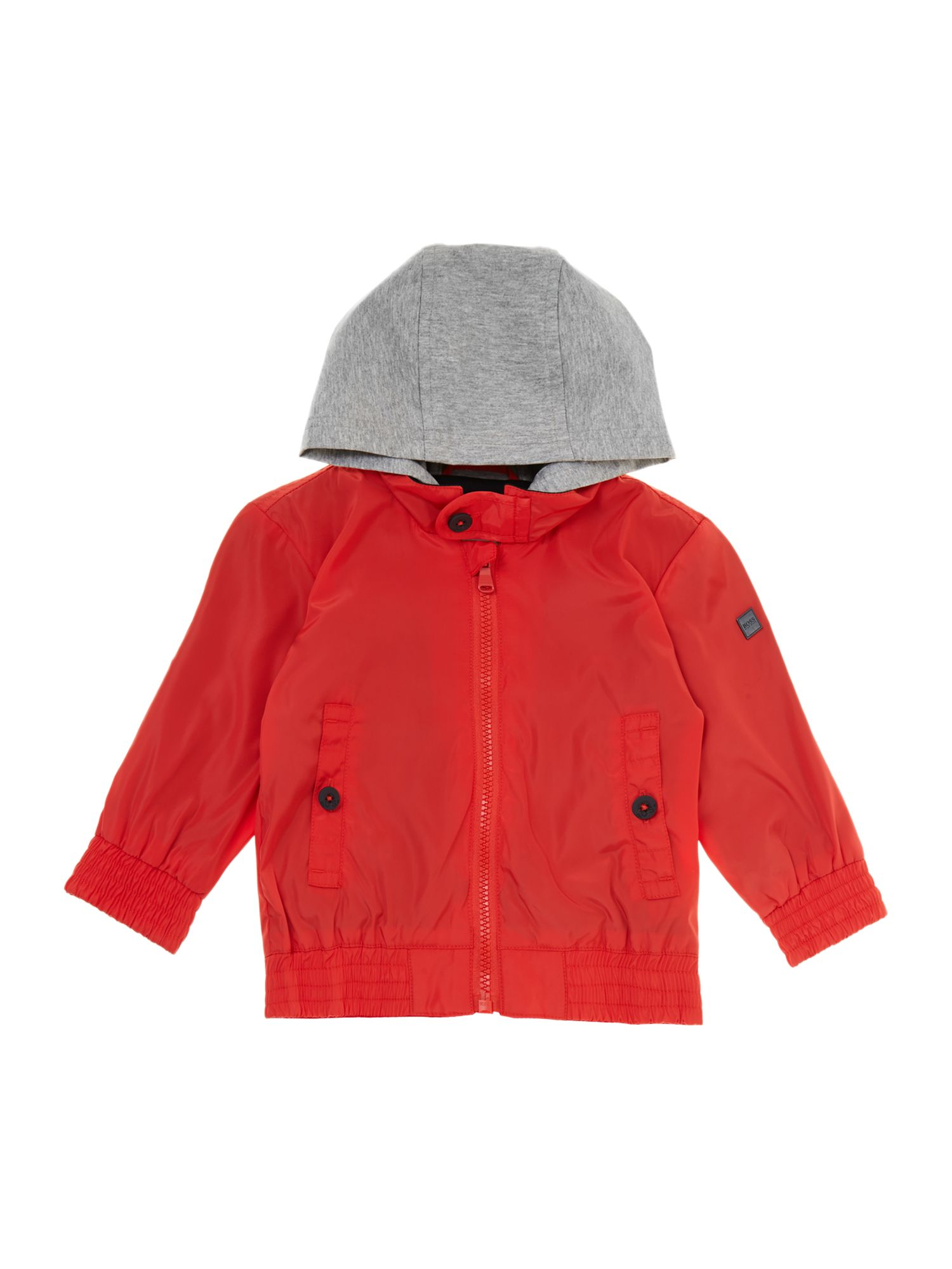 Boy`s coated windbreaker