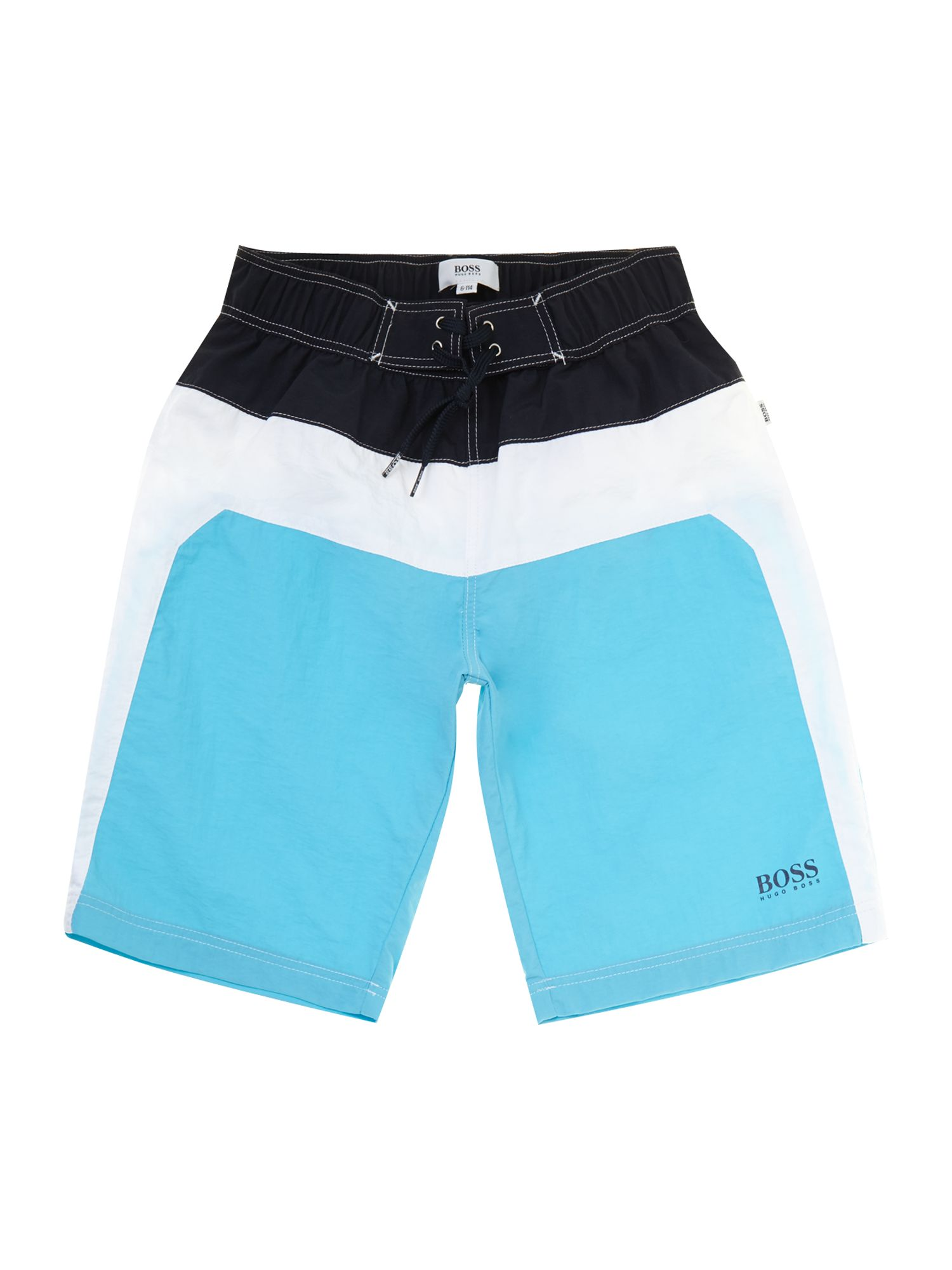 Boy`s quick dry long surfer shorts