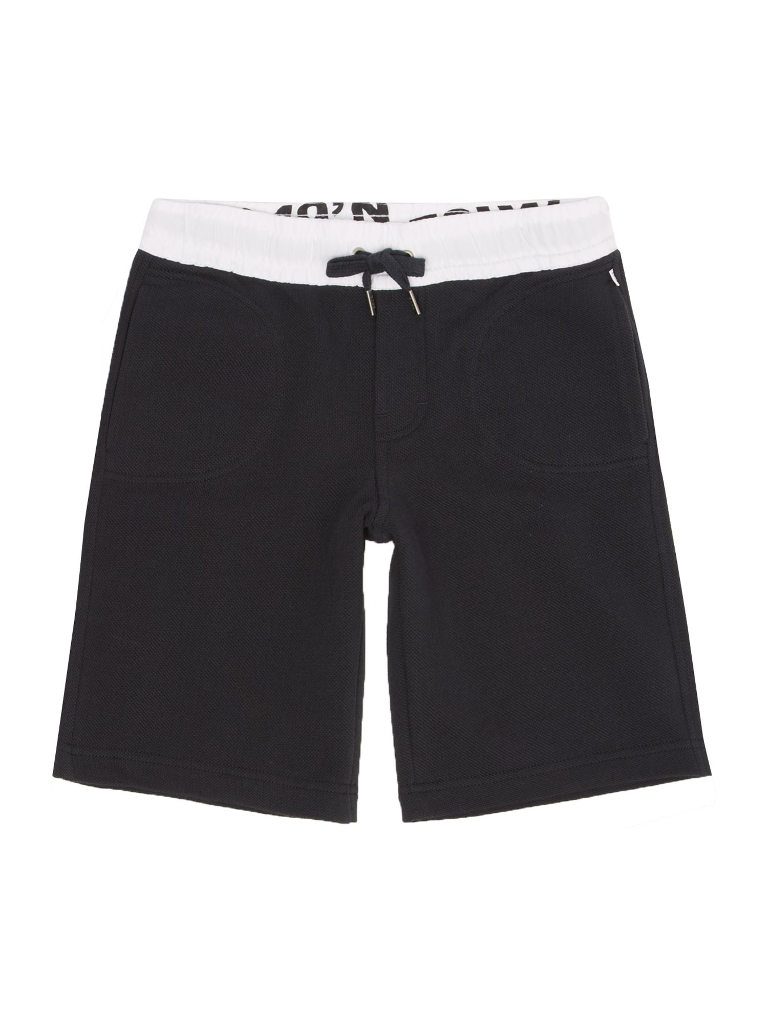 Boy`s cotton pique jogging shorts