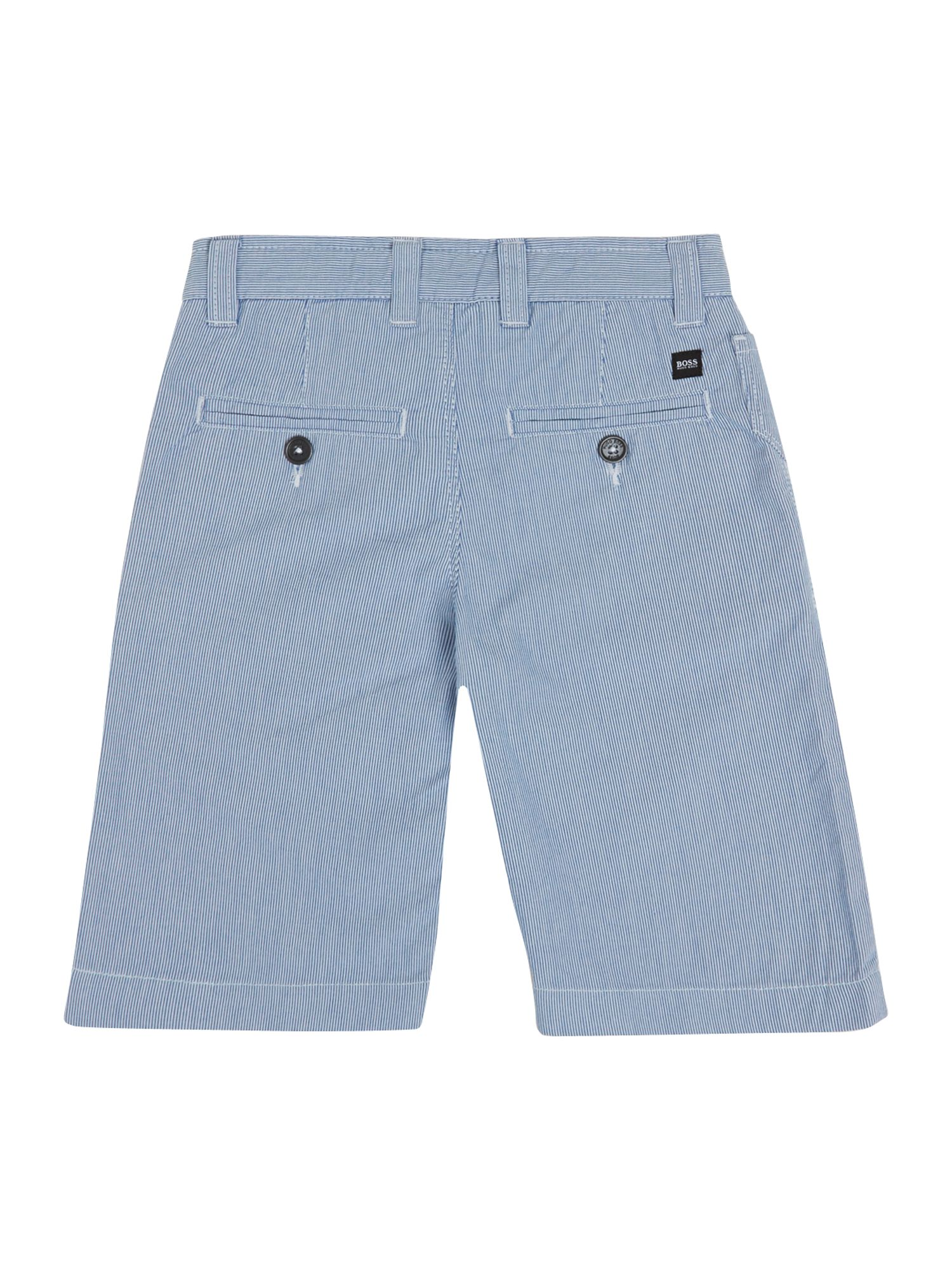 Boy`s striped bermuda shorts