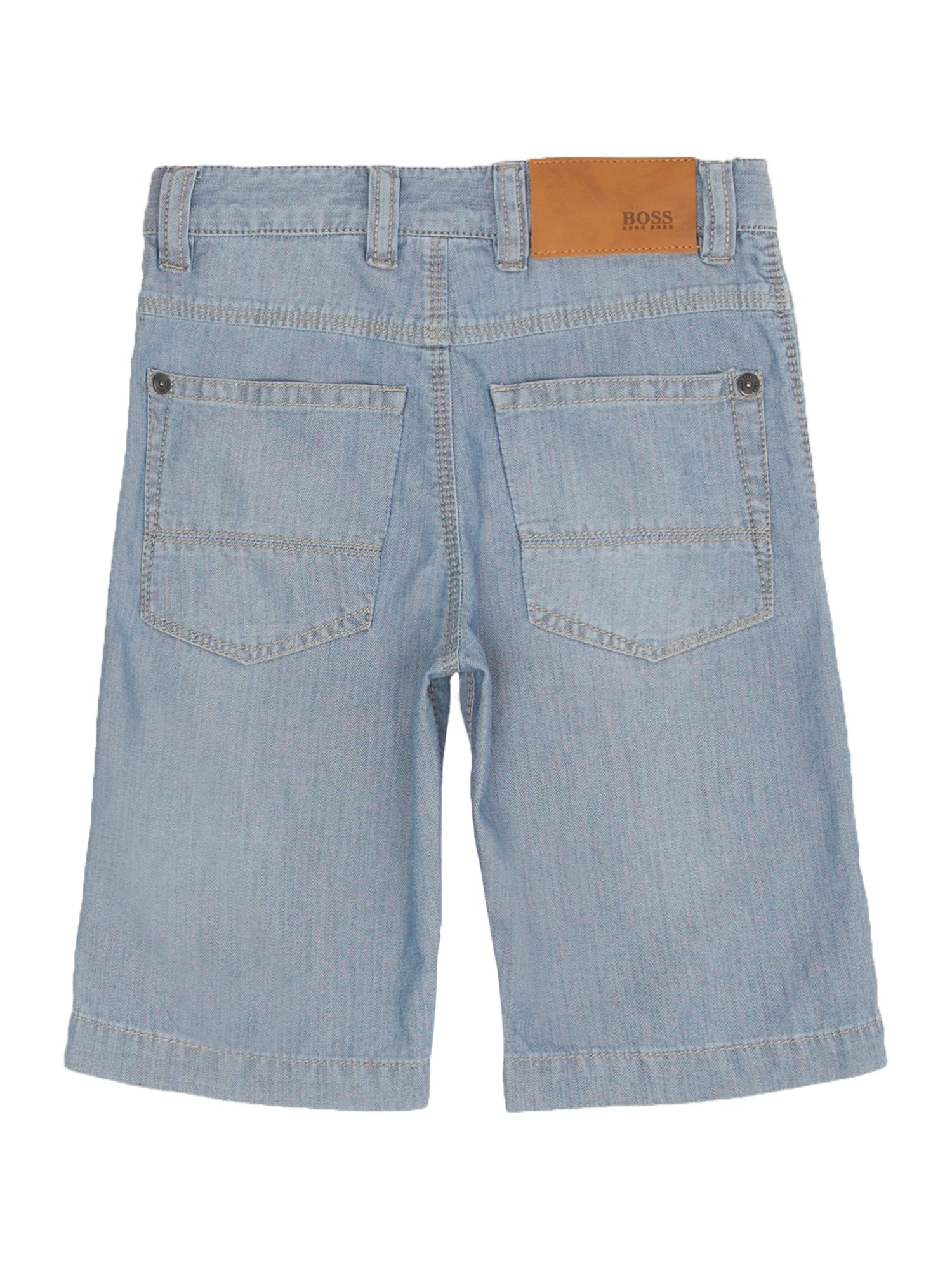 Boy`s denim bermuda shorts