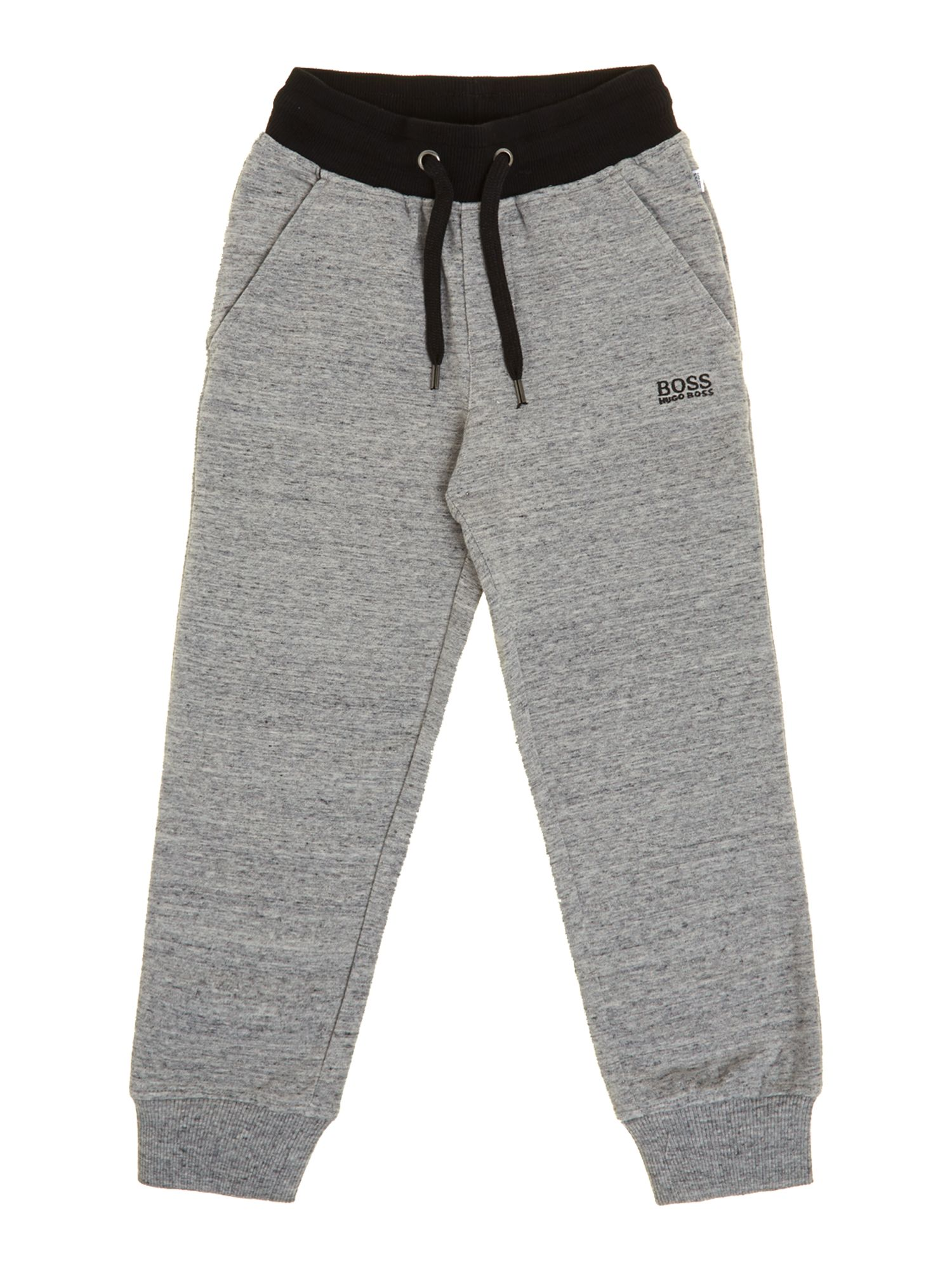 Boy`s cotton pique jogging bottoms