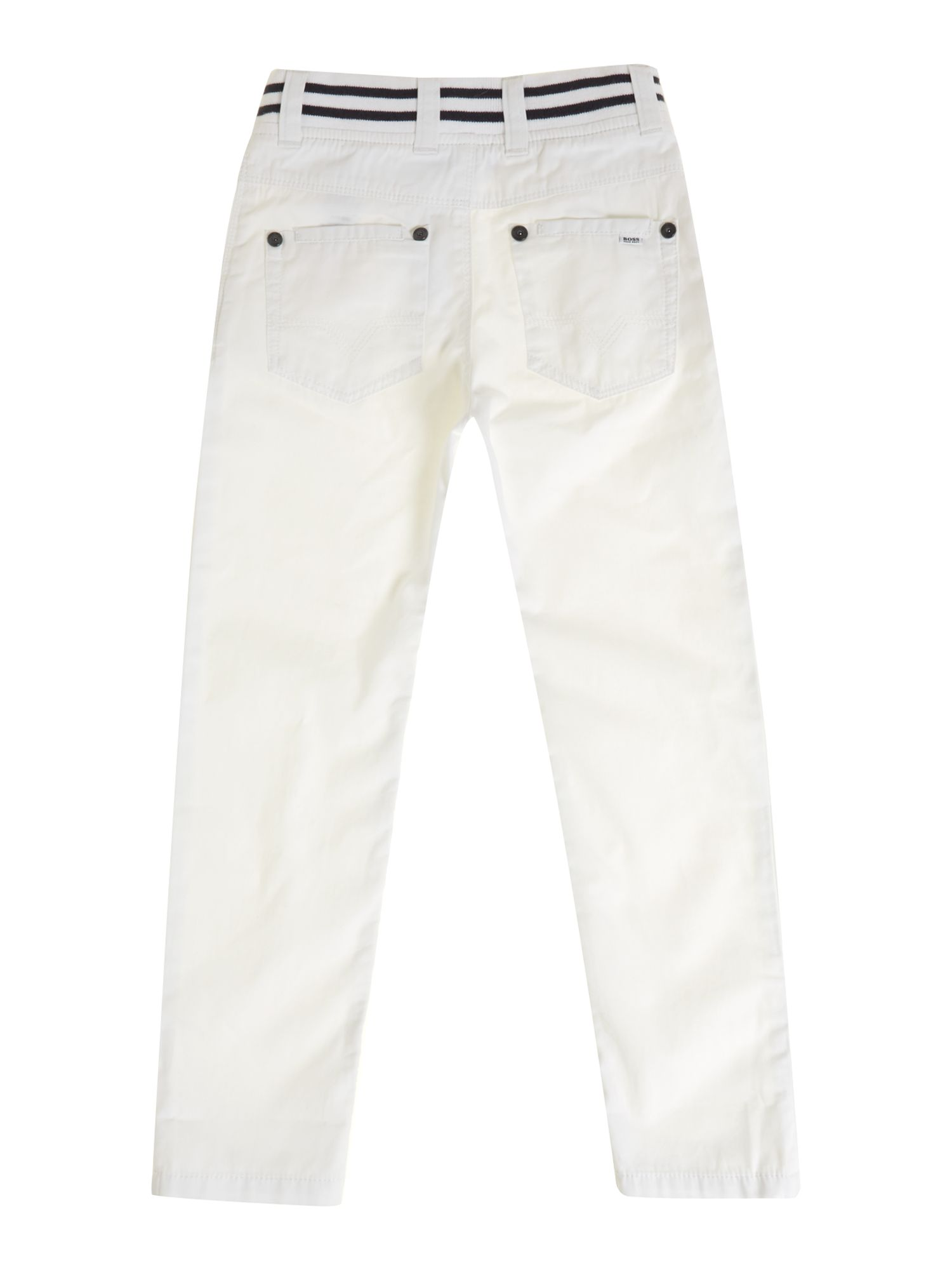 Boy`s chino twill trousers