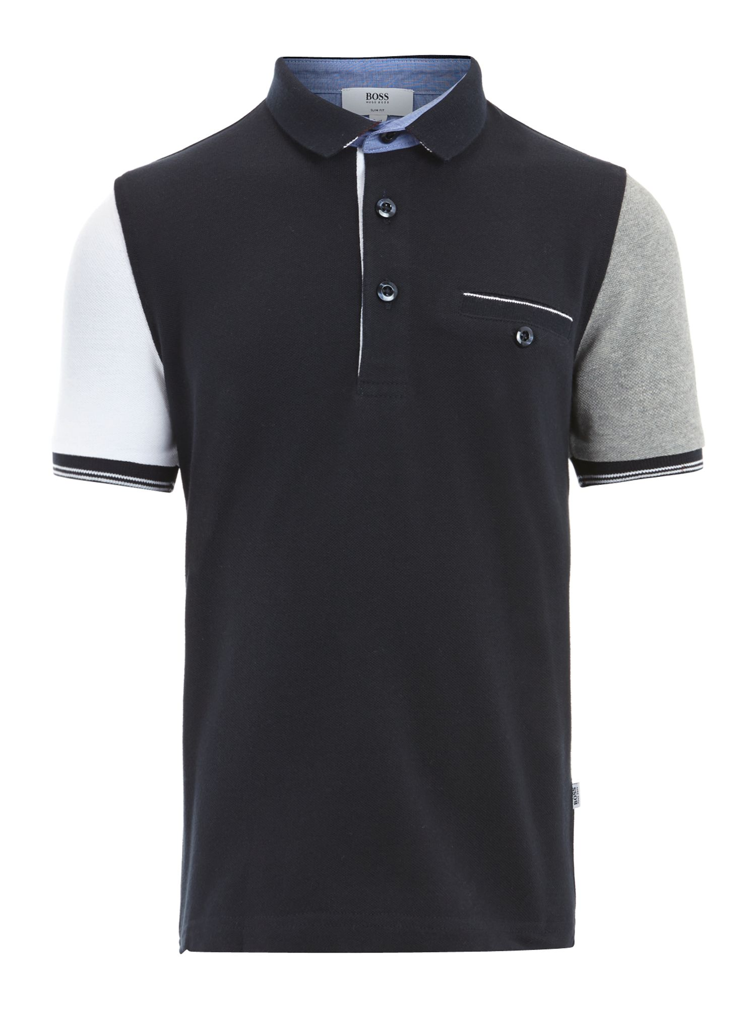 Boy`s cotton pique polo shirt