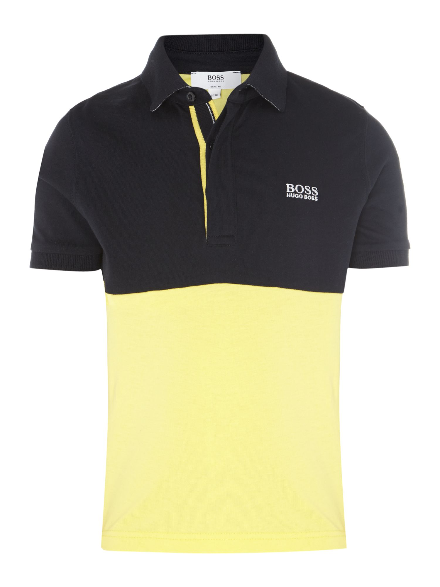 Boy`s 2 colour polo shirt