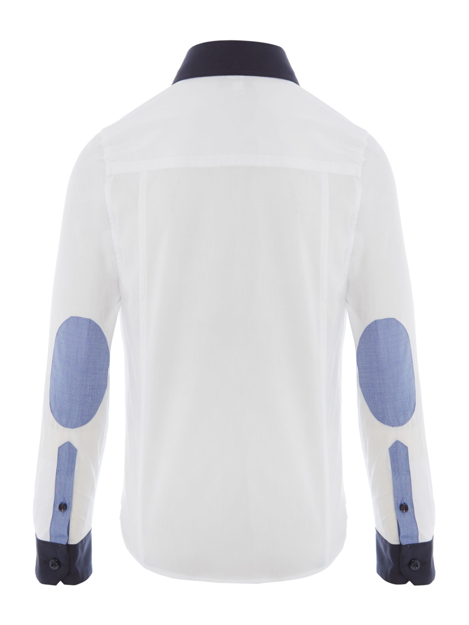 Boy`s twill long sleeves shirt