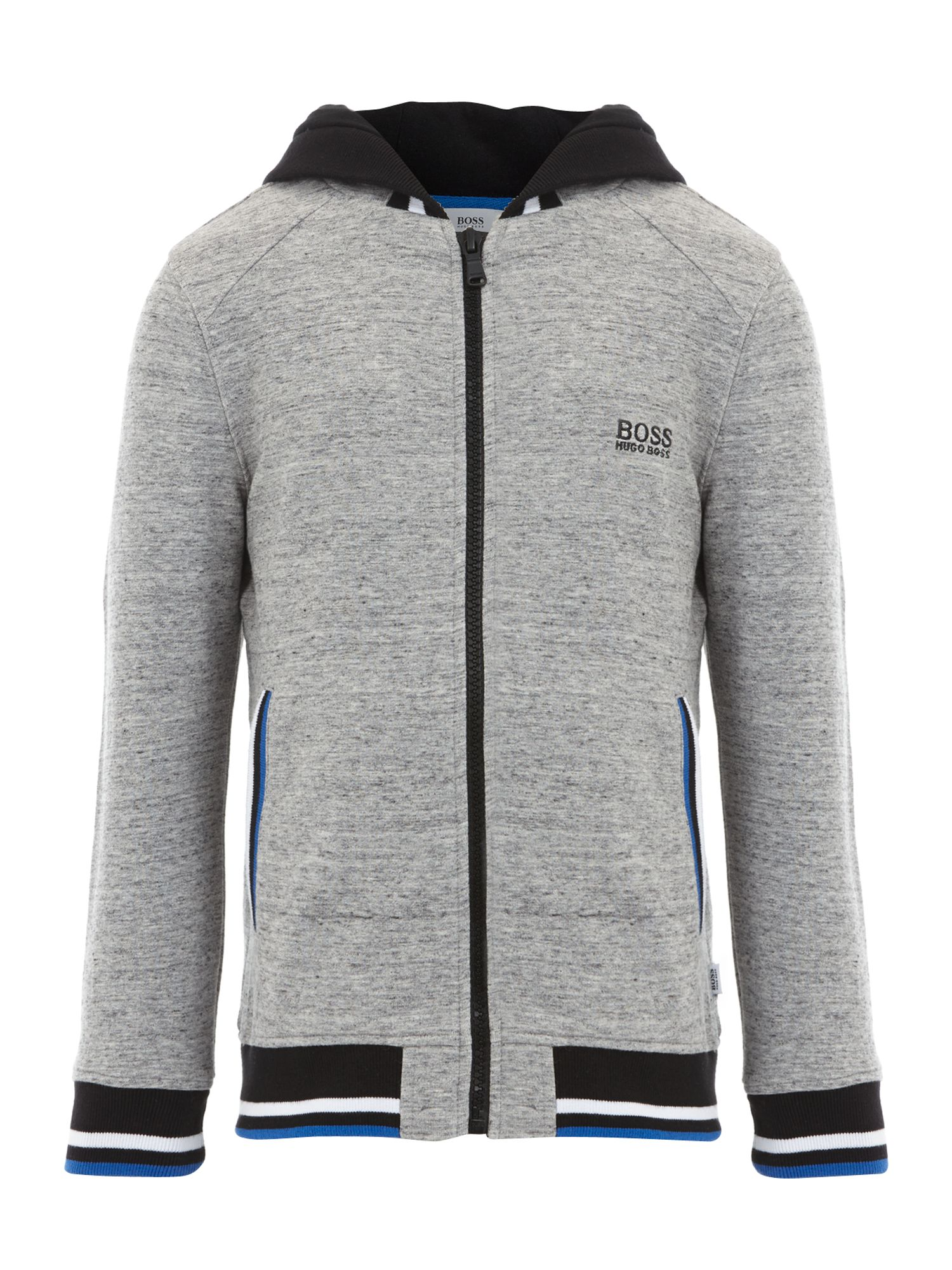 Boy`s hooded zip up top