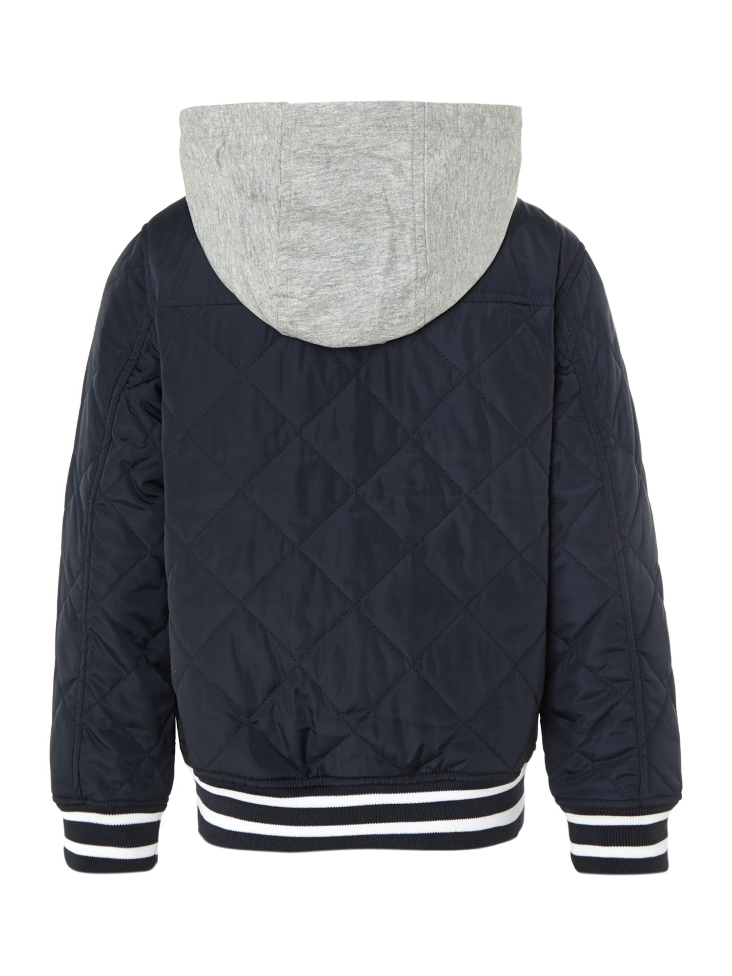 Boy`s quilted long sleeve jacket