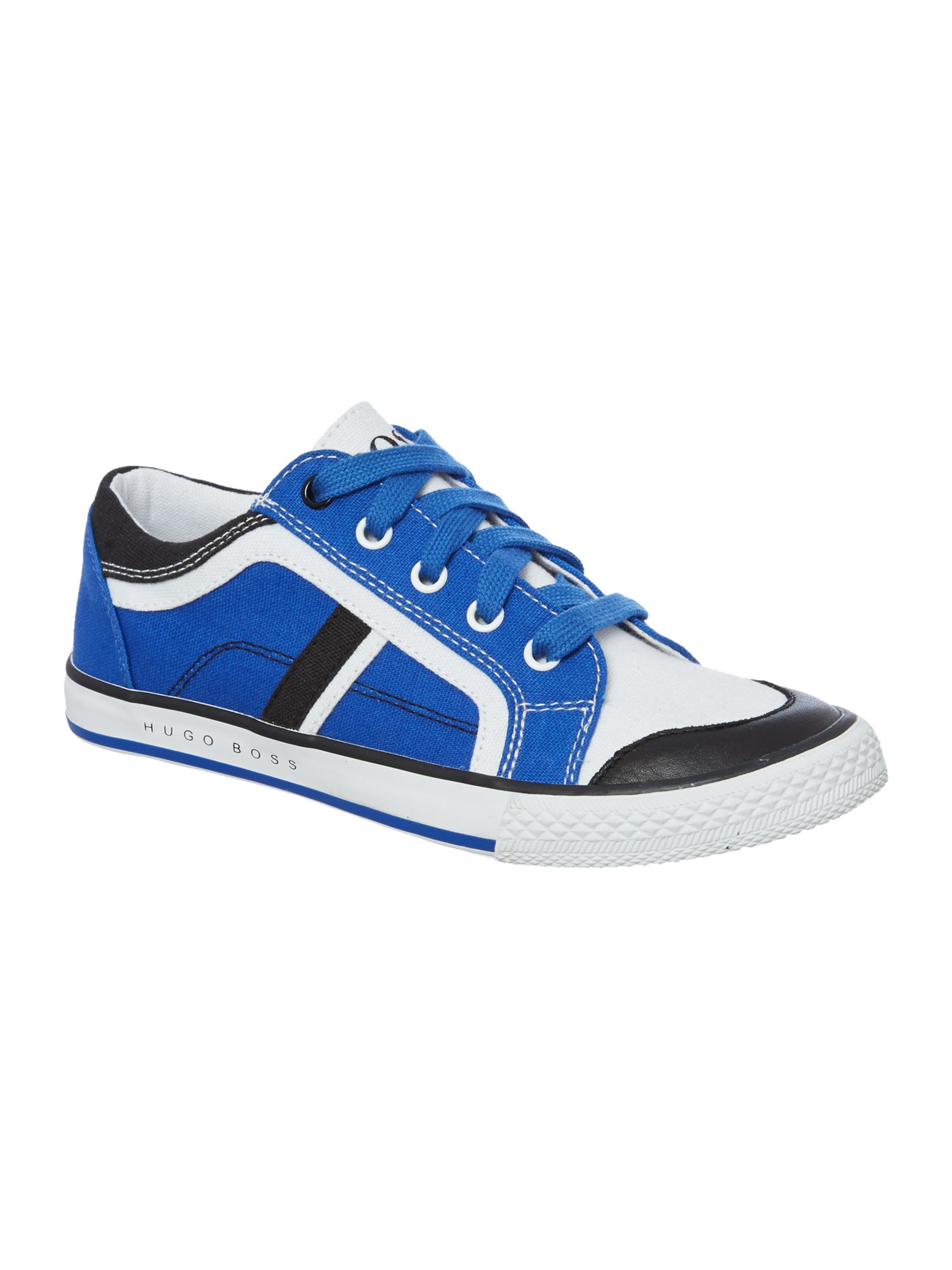 Boy`s canvas trainers