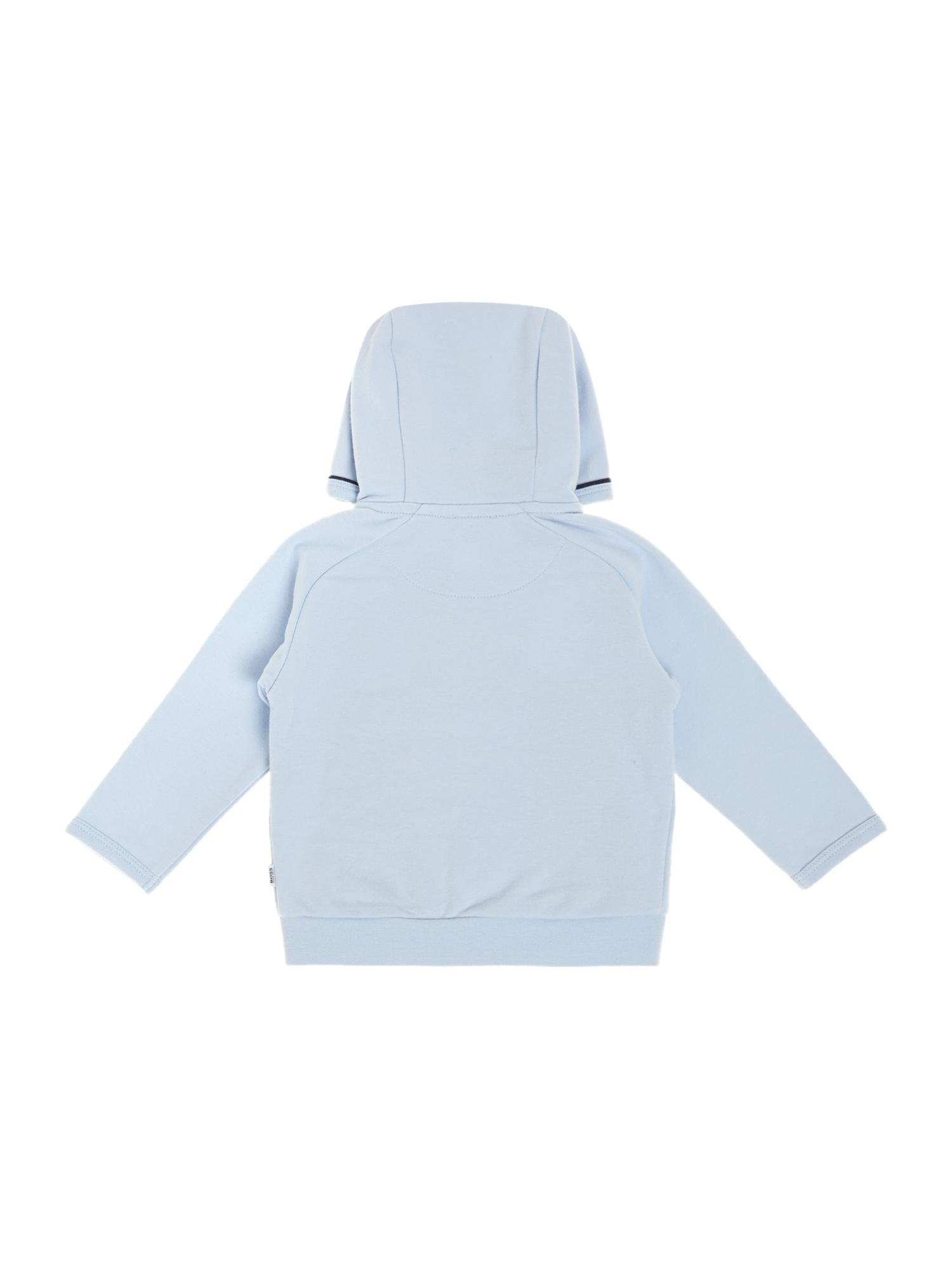 Baby boys sueded jersey long hooded team