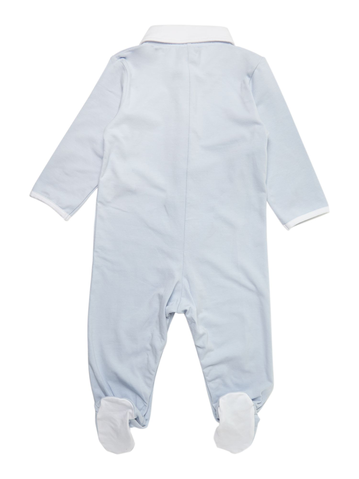 Boy`s pyjama all in one with bib
