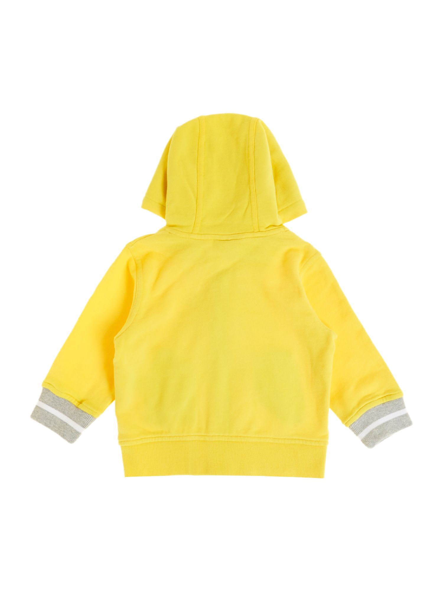 Boy`s fleece long sleeve hooded top