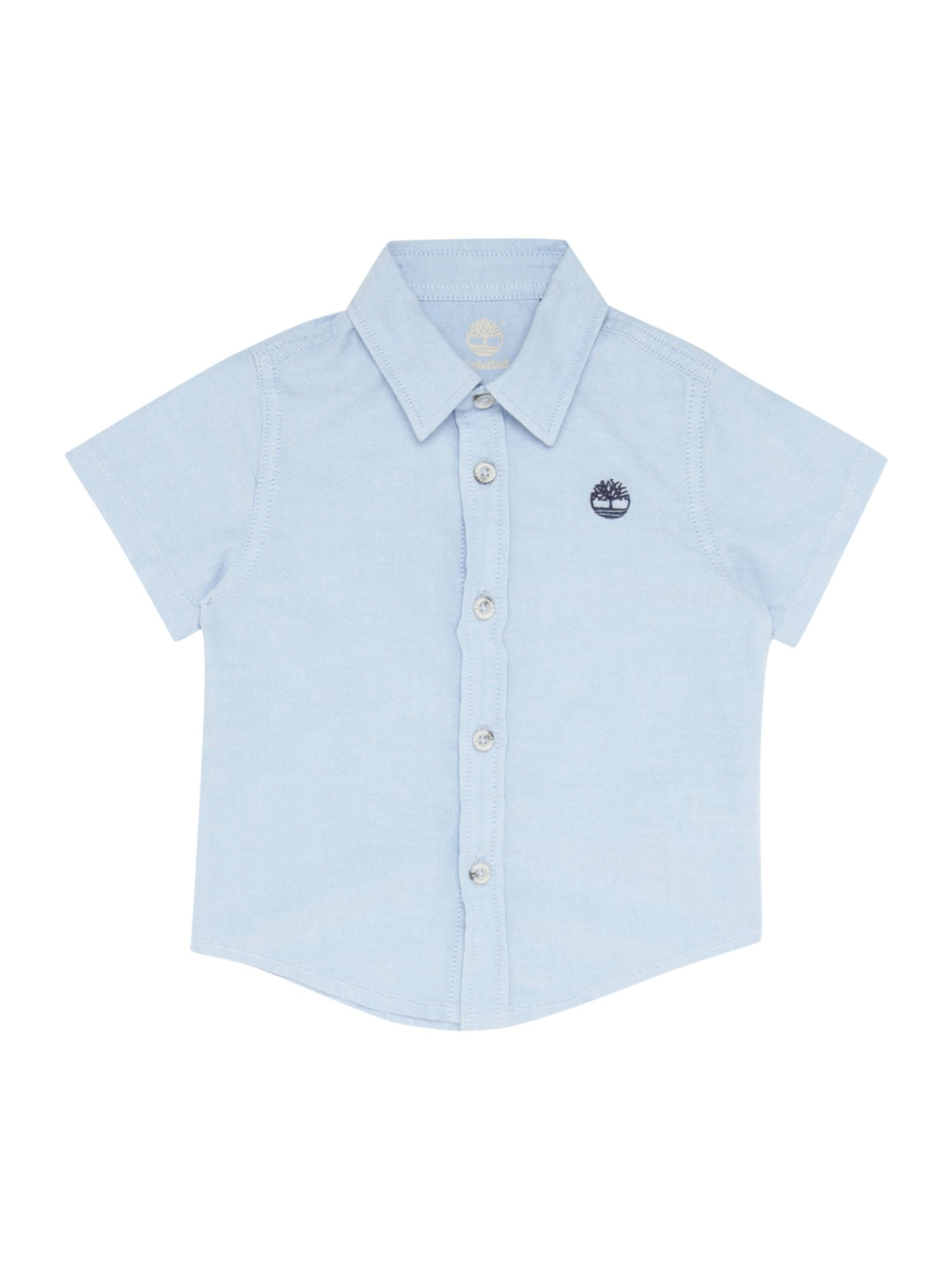 Boy`s cotton oxford short sleeve shirt