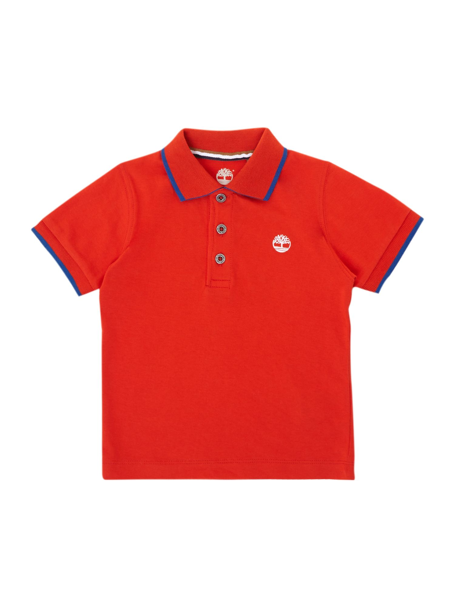 Boy`s short sleeve polo shirt