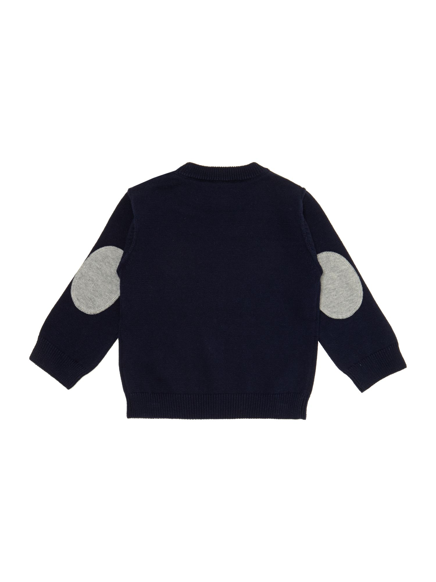 Boy`s knitted long sleeve jumper