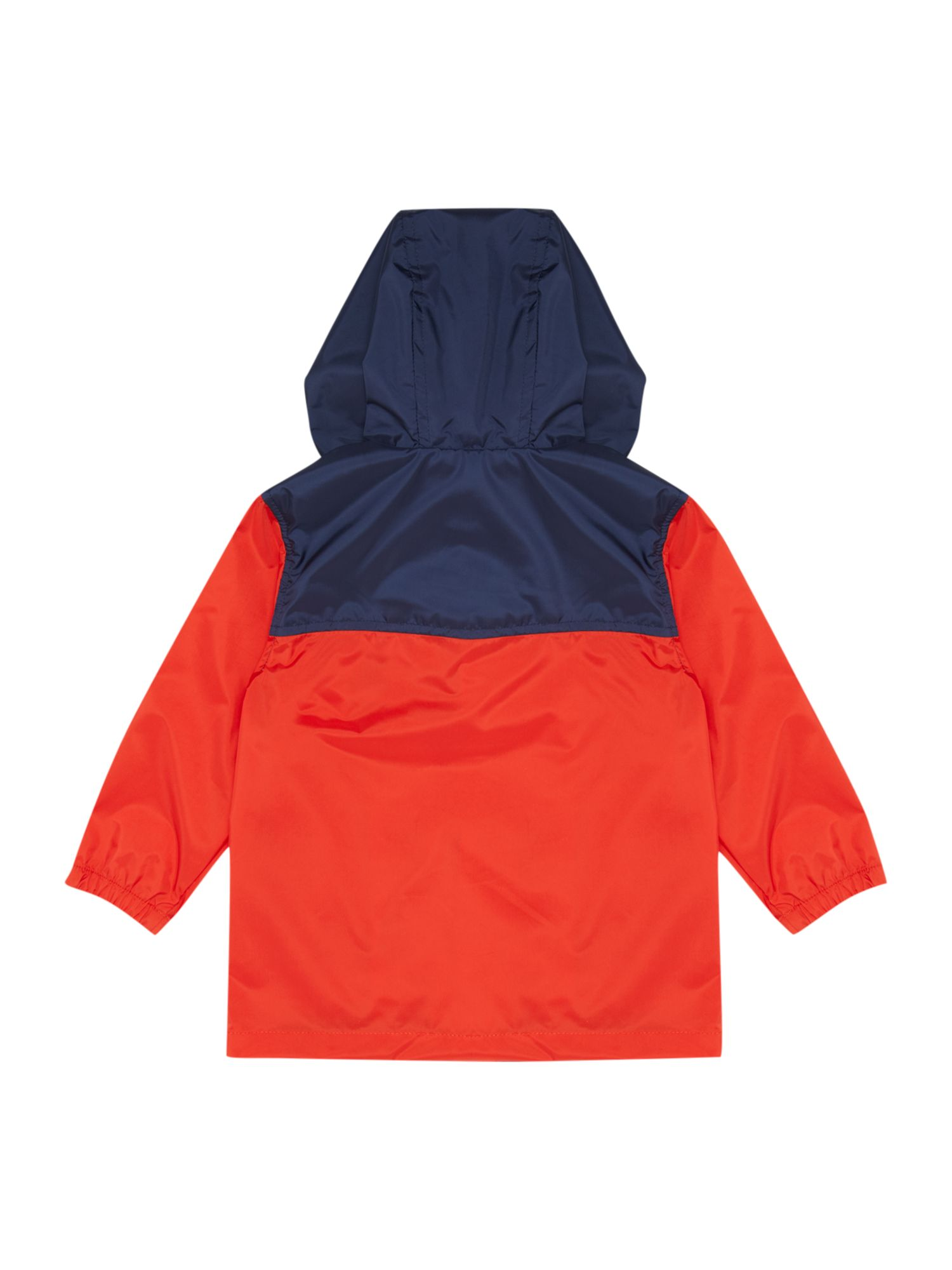 Boy`s hooded windbreaker jacket