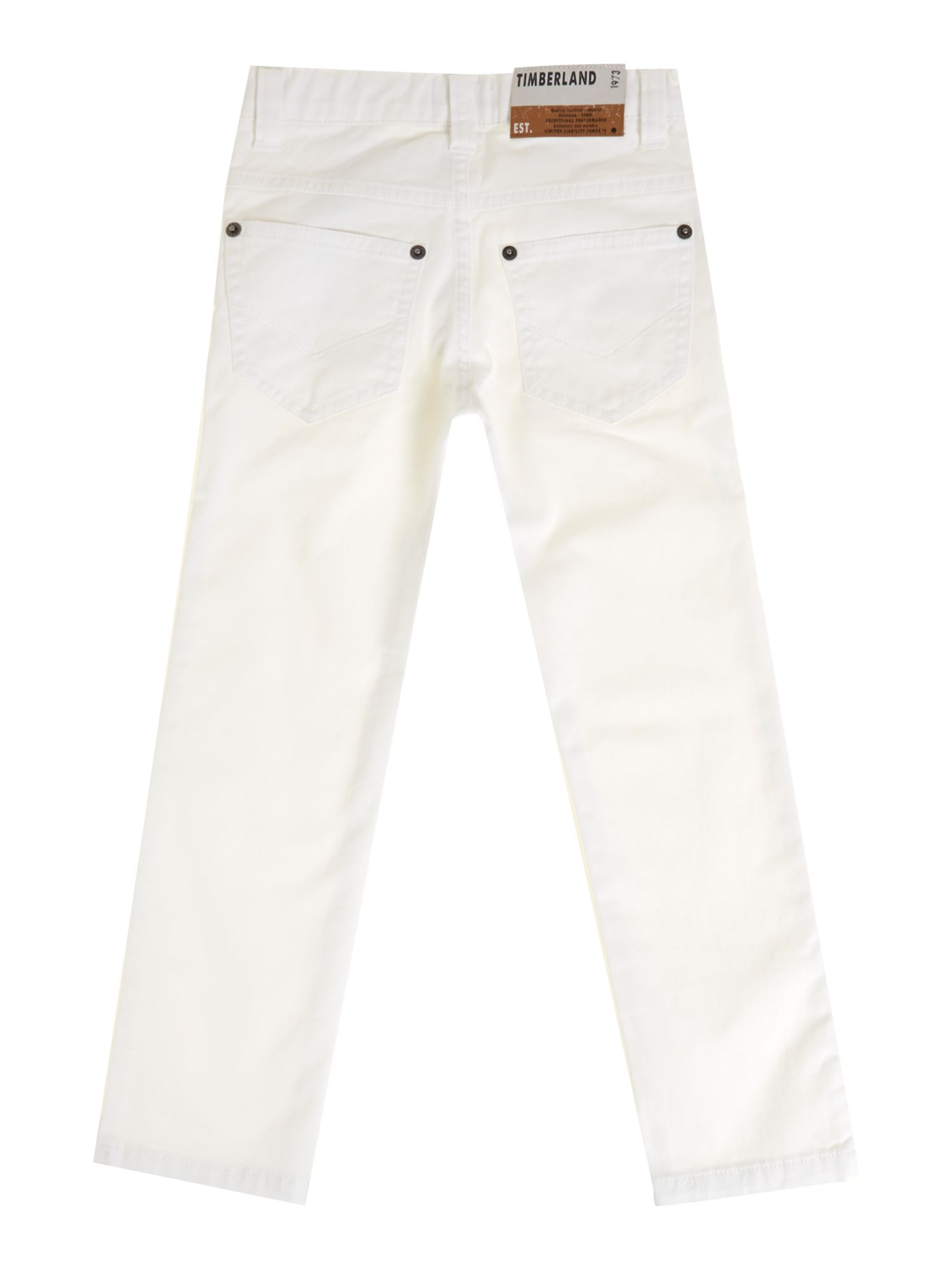 Boy`s twill slim trousers