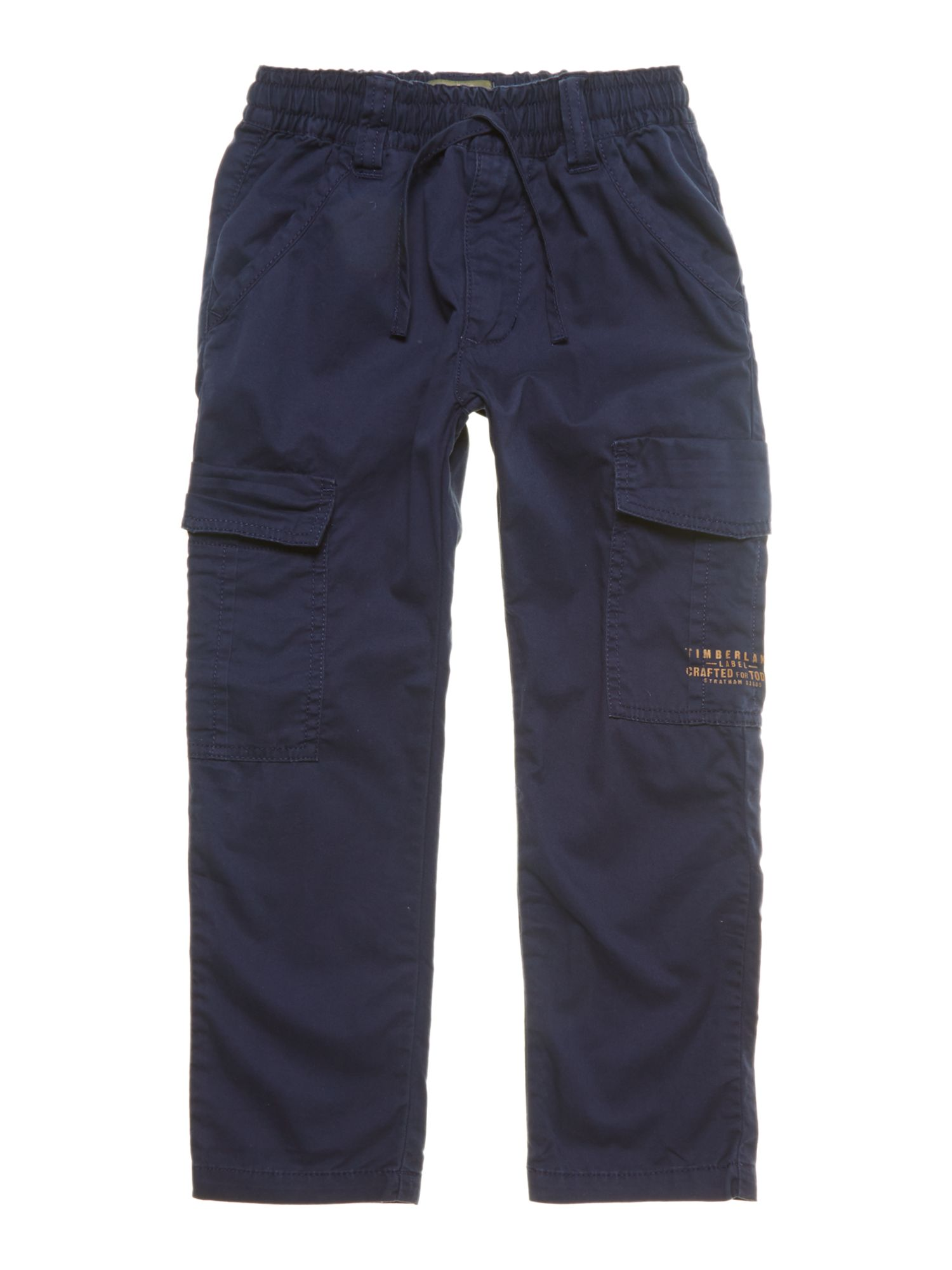 Boy`s twill cargo trousers