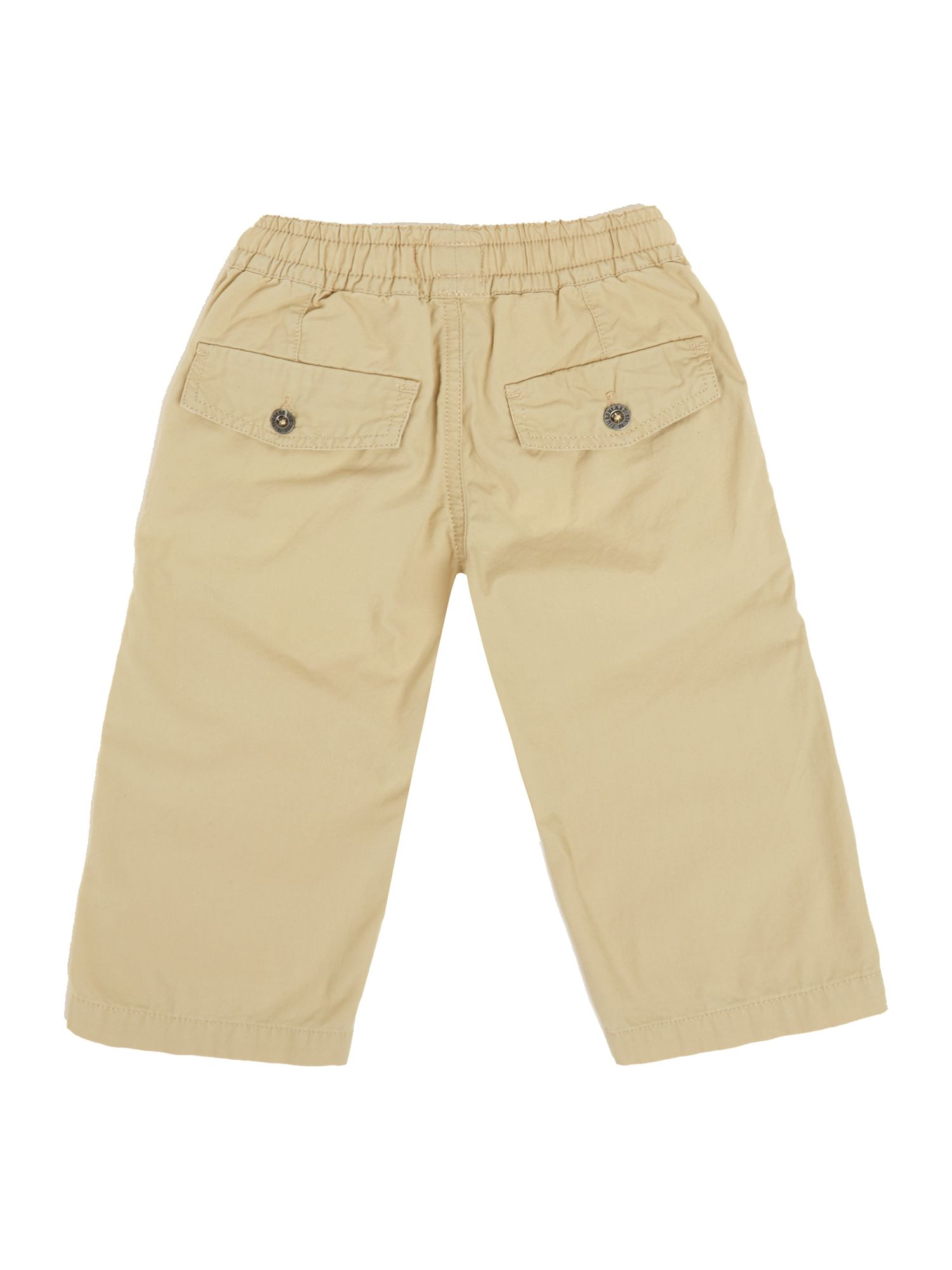 Boy`s poplin cropped trousers