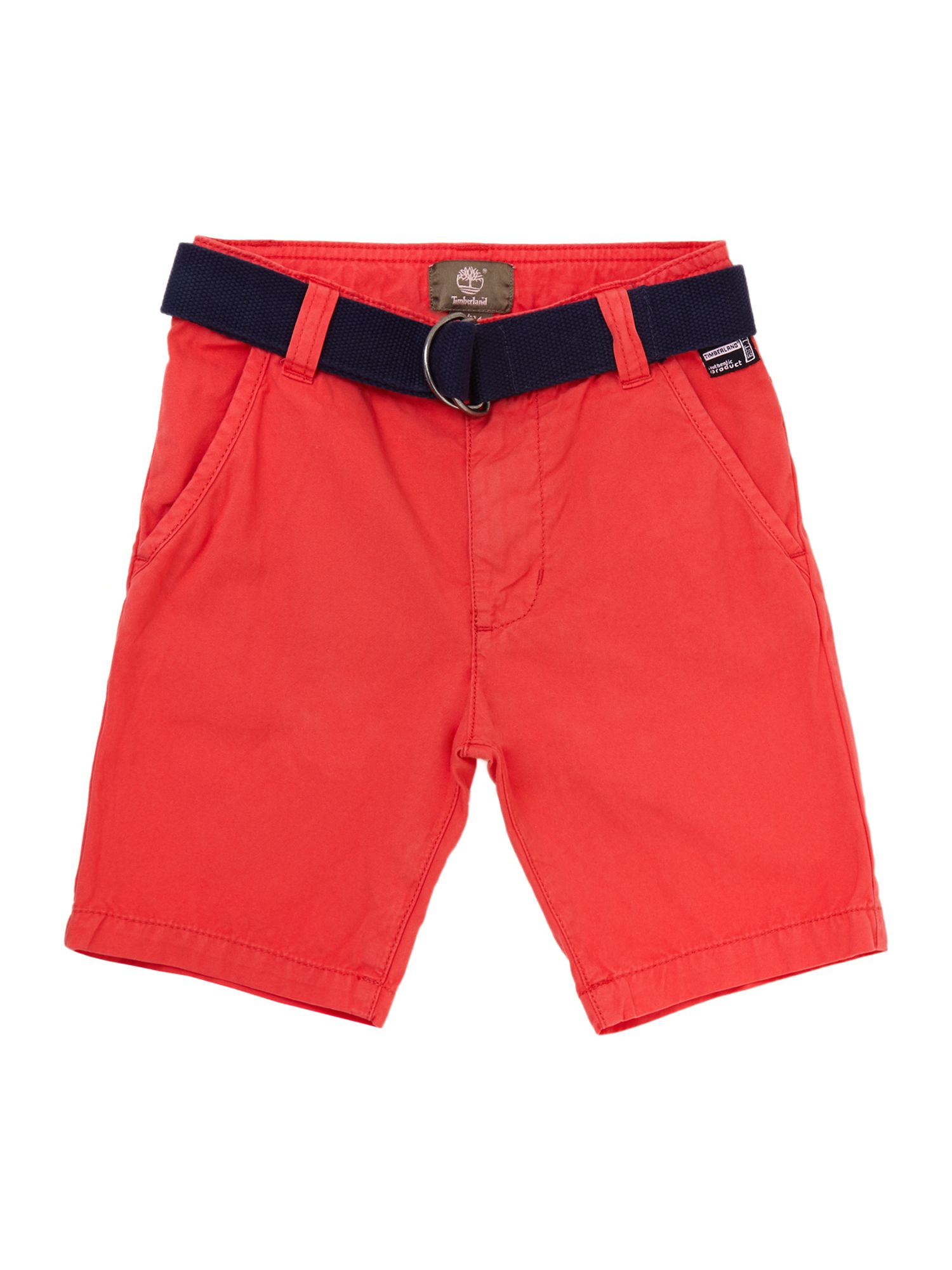 Boy`s canvas bermuda shorts
