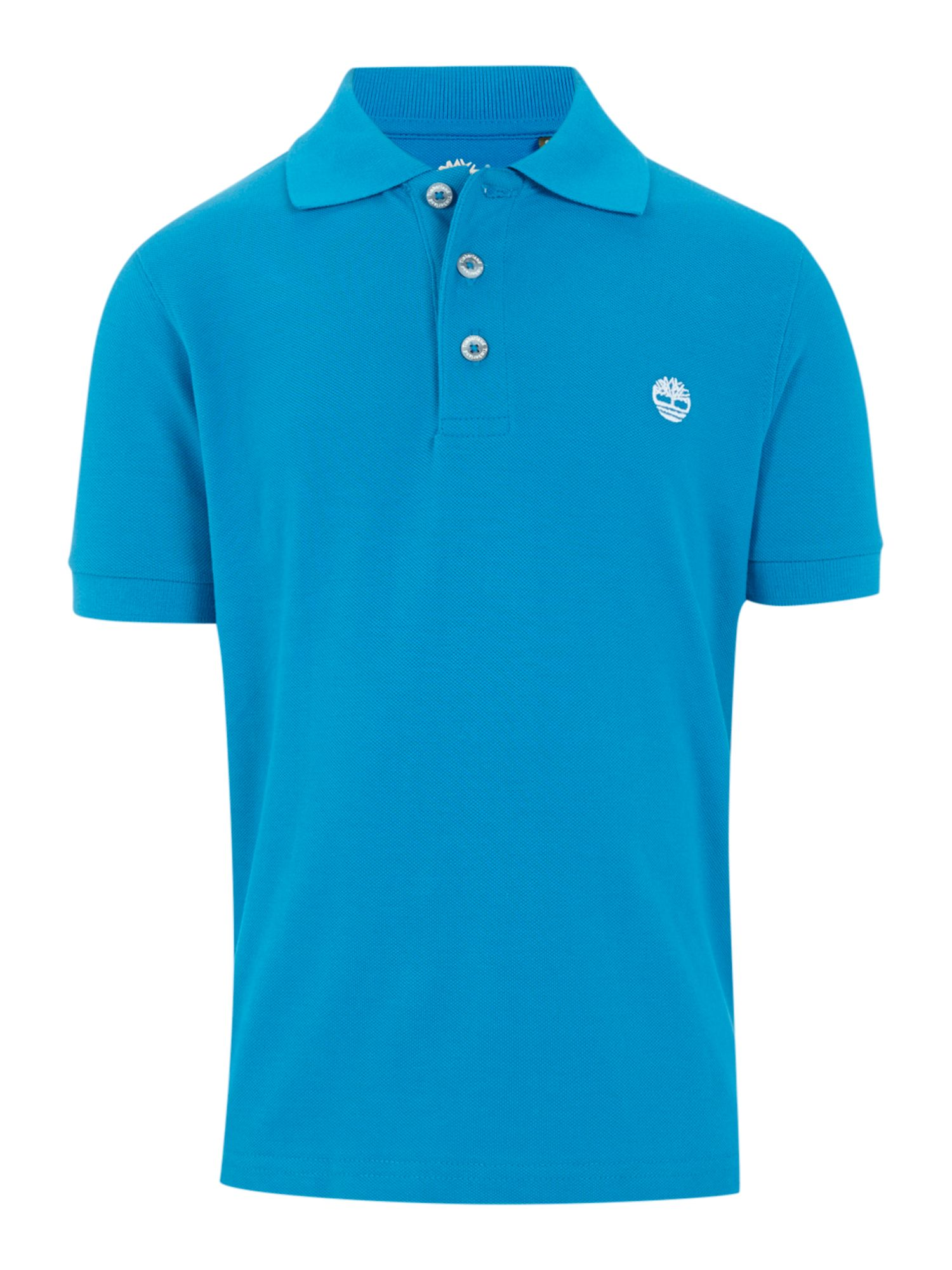 Boy`s pique short sleeve polo shirt