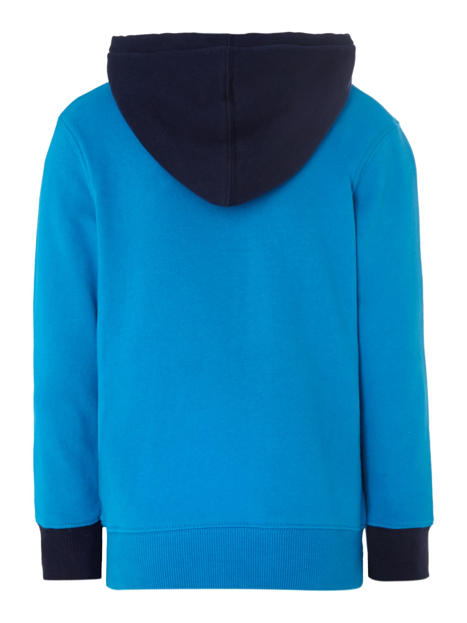 Boy`s fleece lined hooded top