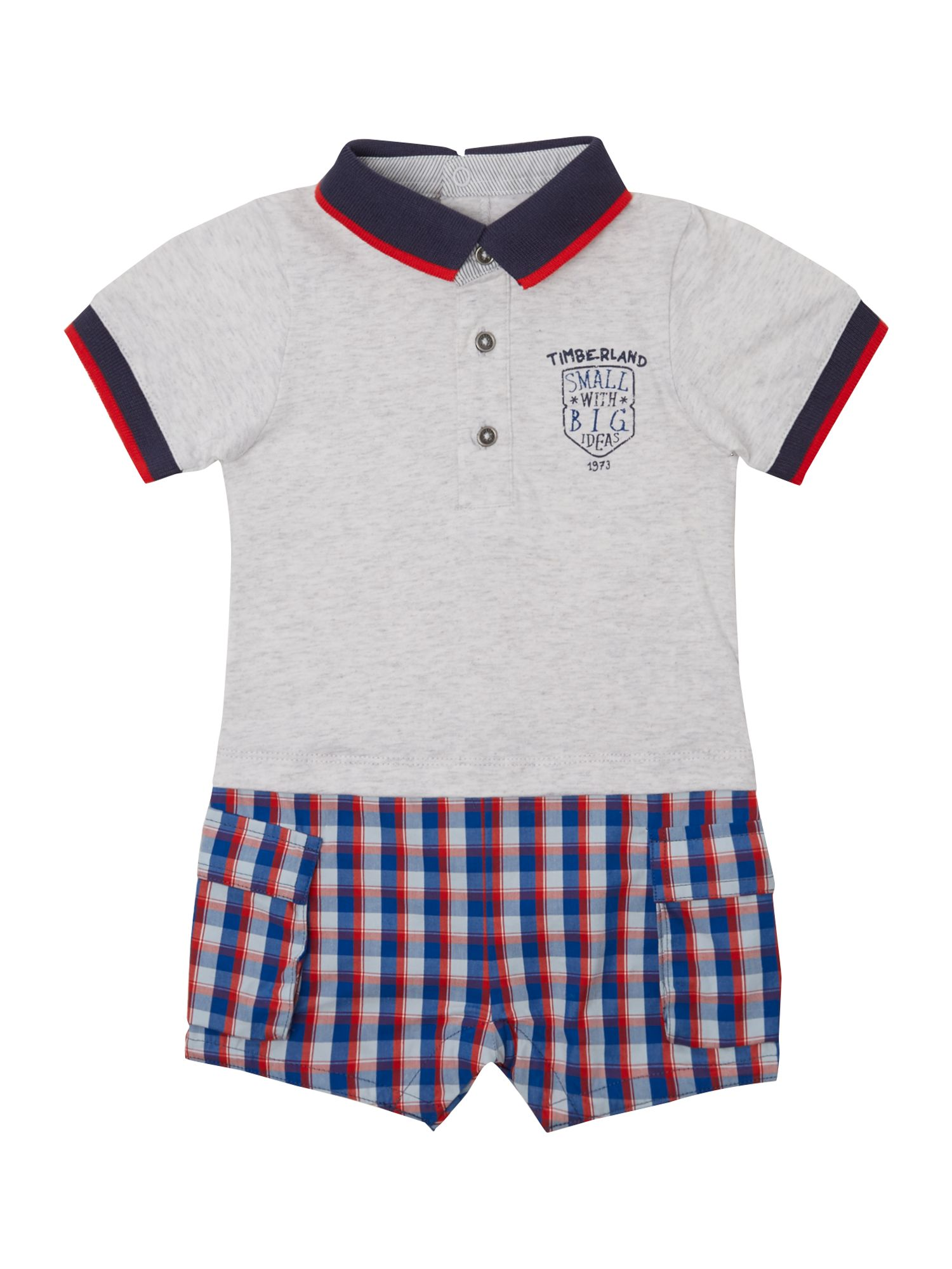 Boy`s jersey short all in one